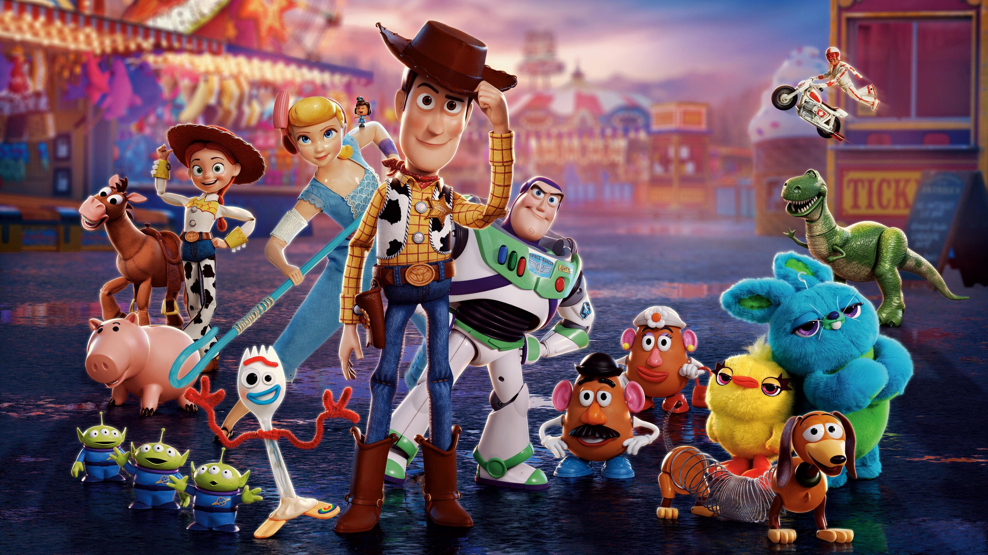 Fondos de pantalla Toy Story 4 Personajes Poster