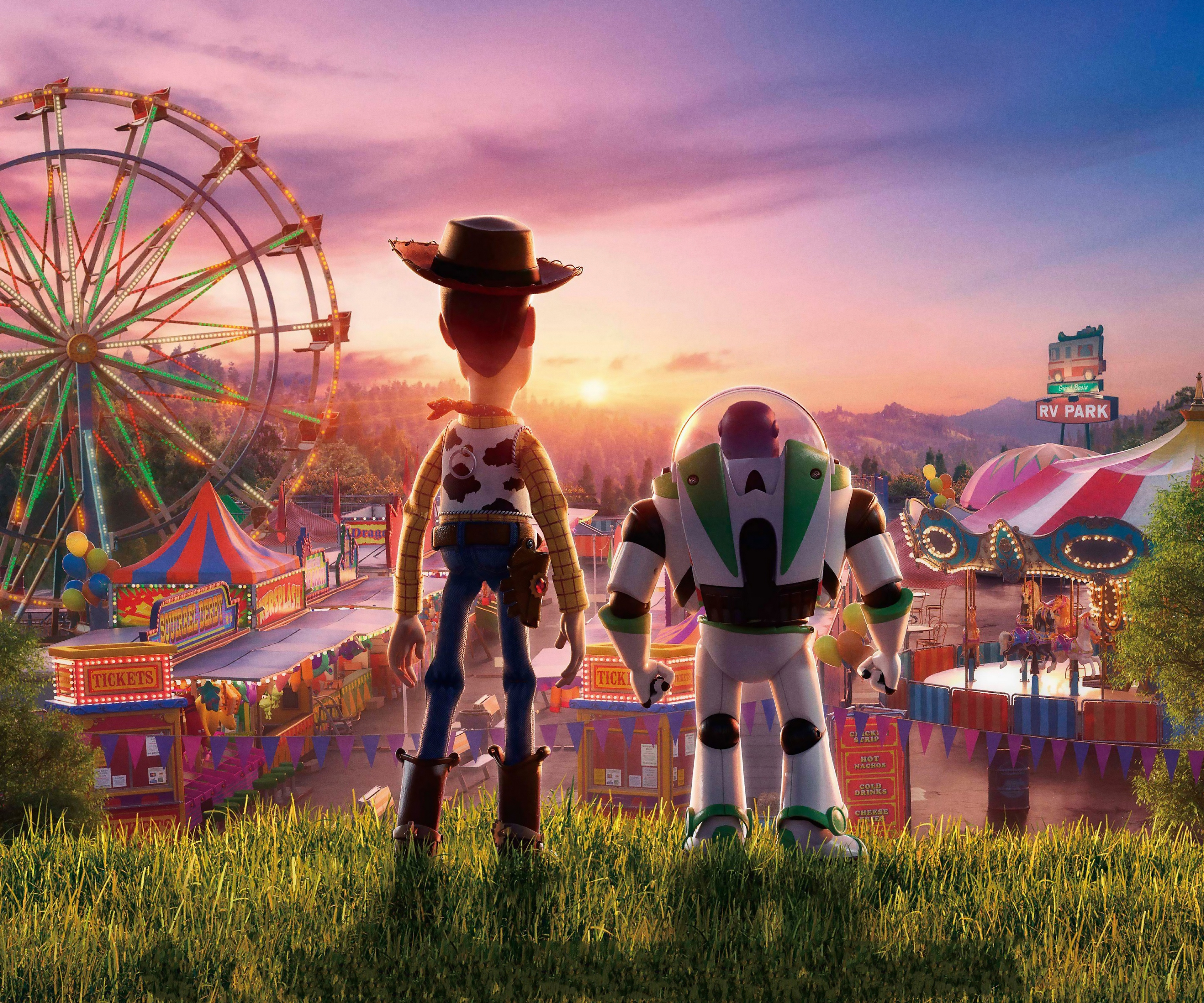 Toy Story 4 Woody And Buzz Lightyear Wallpaper 4k Ultra Hd