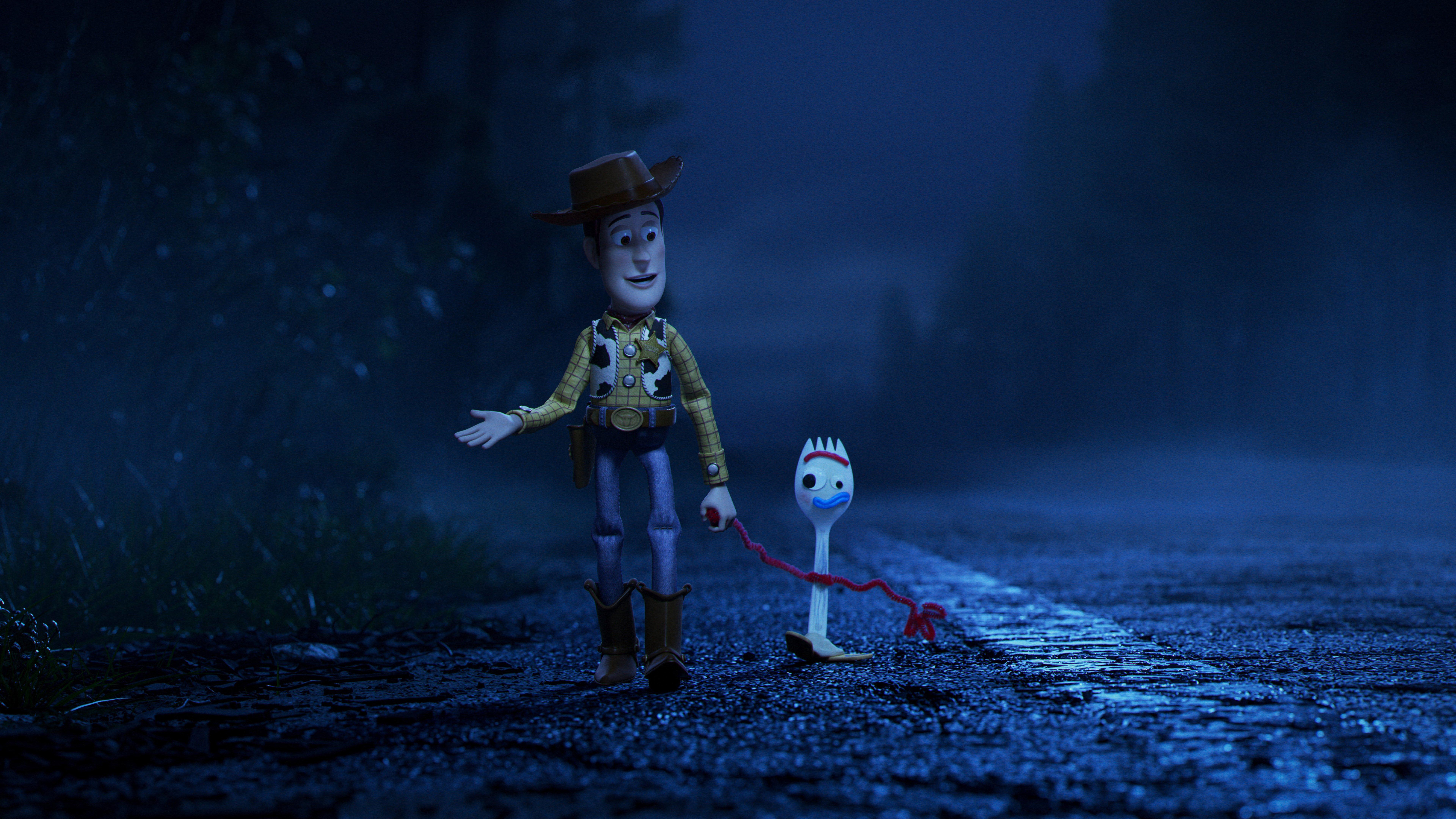 Fondos de pantalla Toy Story 4 Woody y Forky