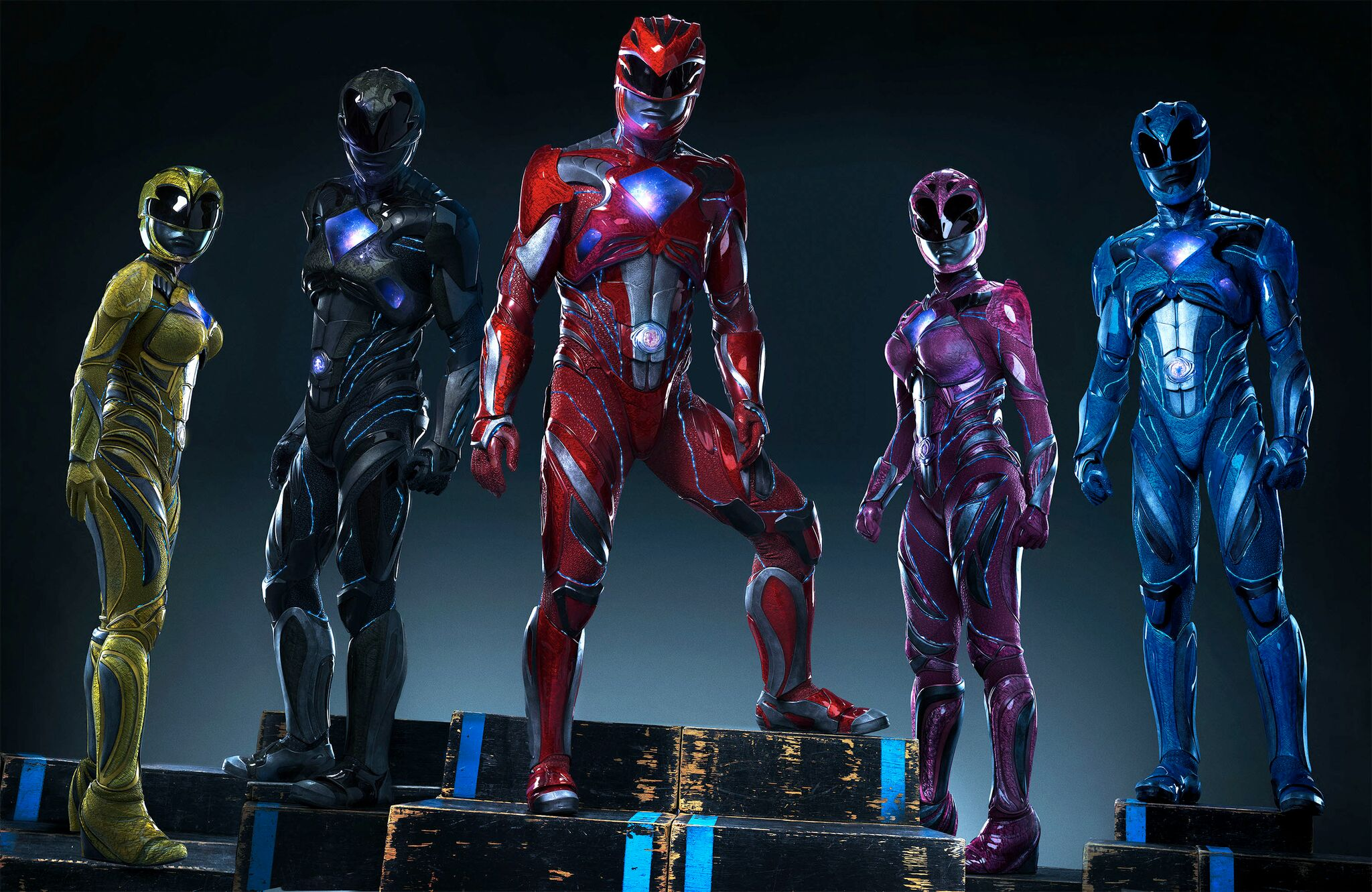 Wallpaper Power Rangers 2017