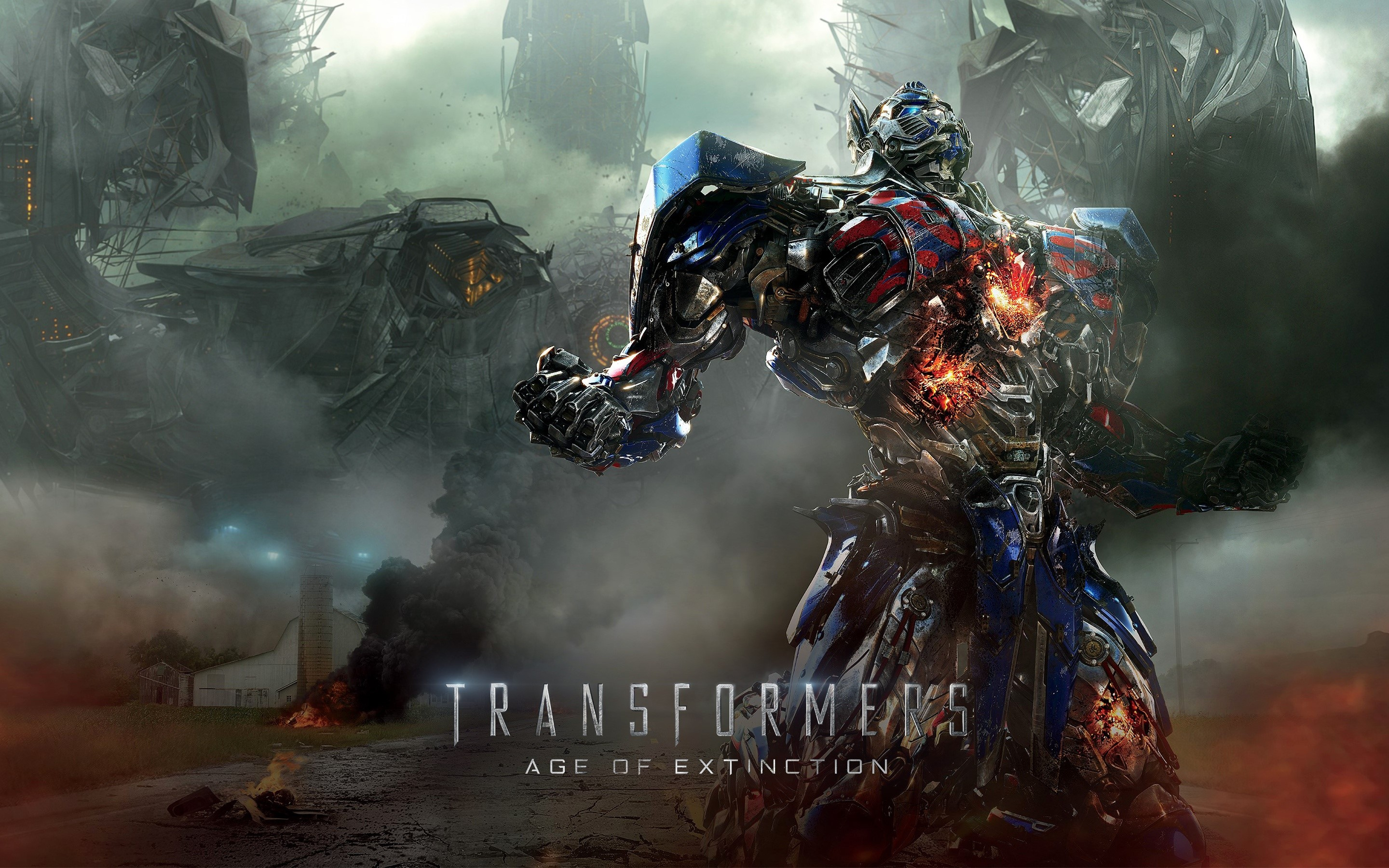 Wallpaper Transformers 4 Age of extinction 2014