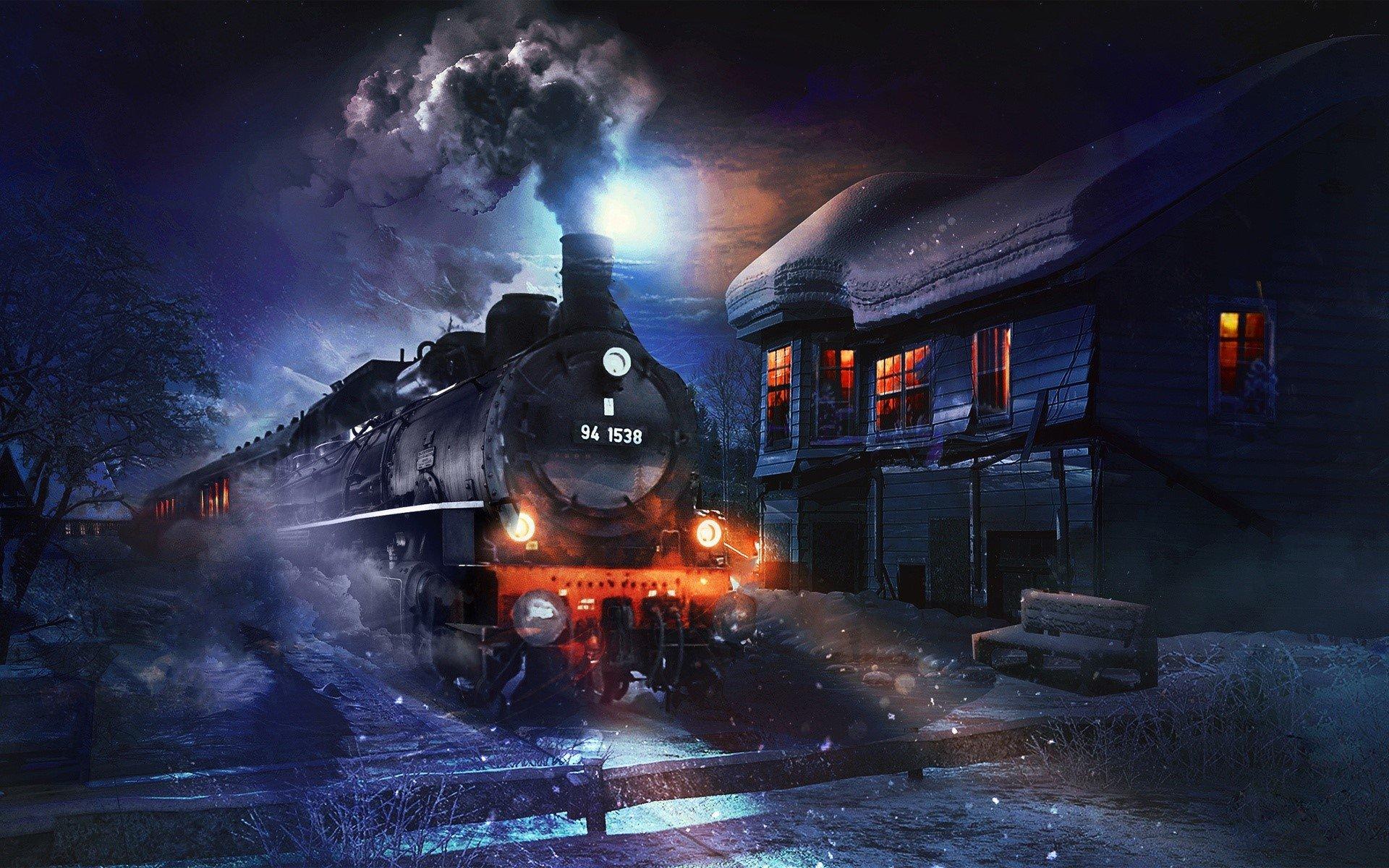 Wallpaper Coal train
