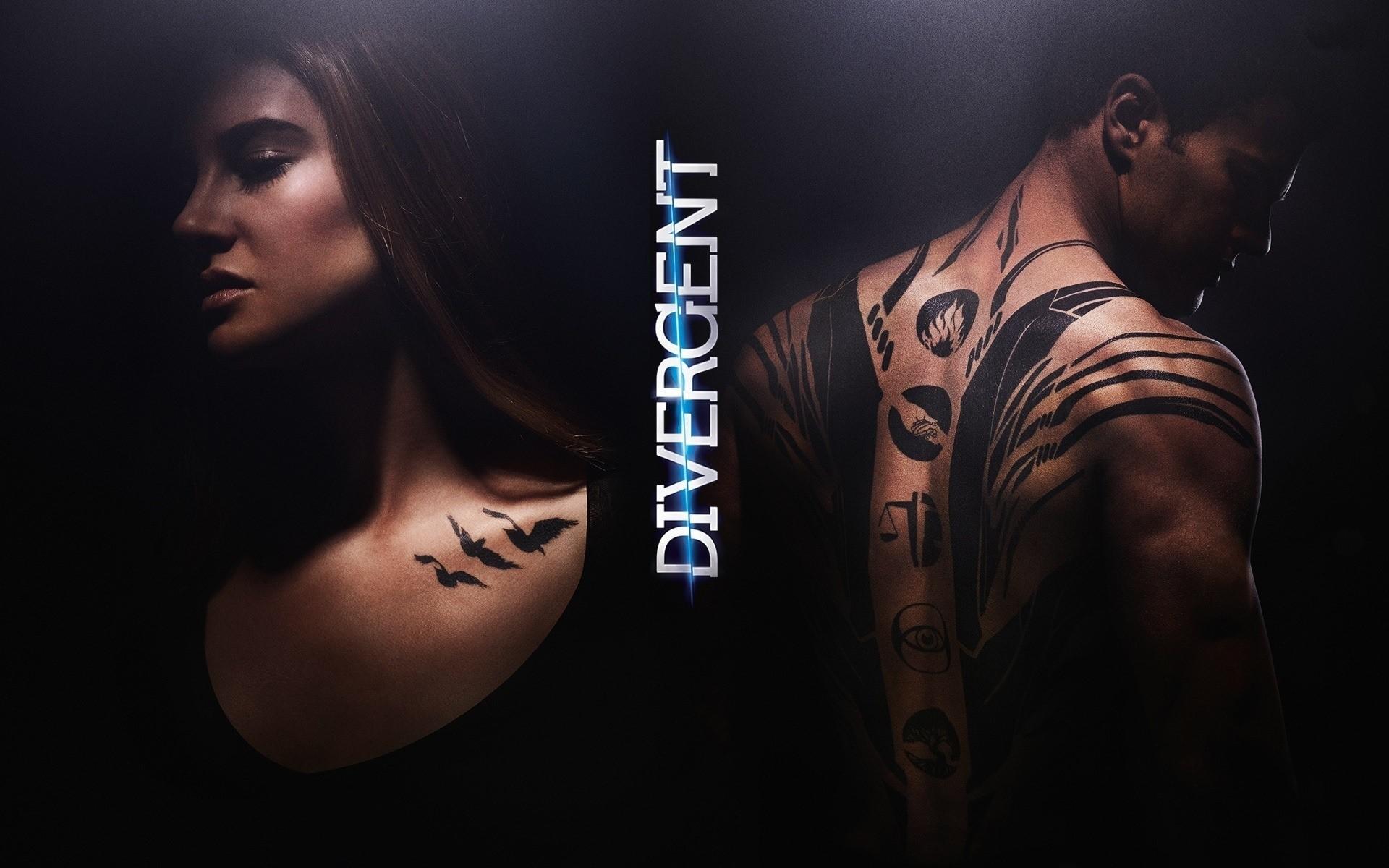 Fondos de pantalla Tris y Cuatro en Divergente