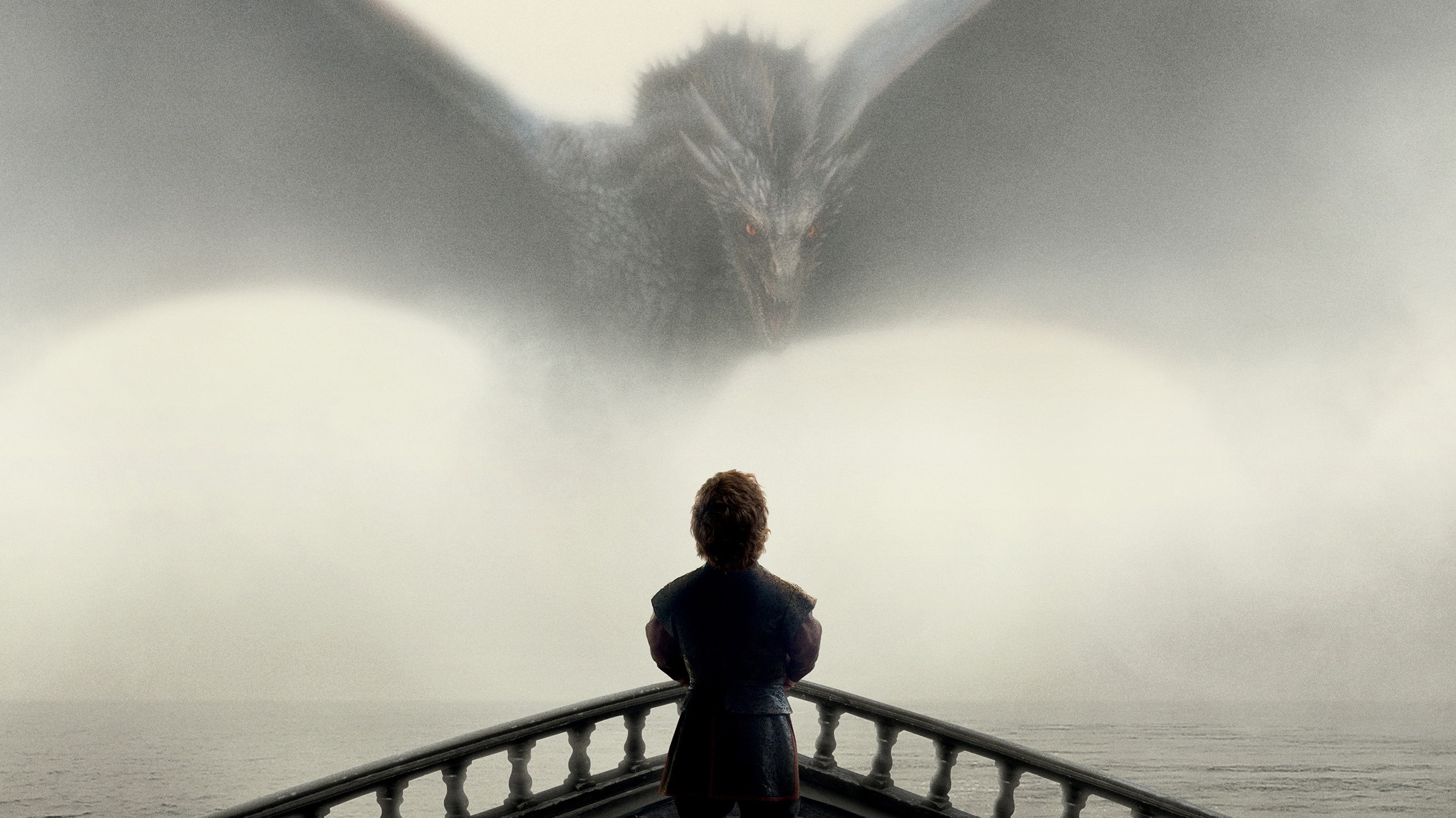 Fondos de pantalla Tyrion y Drogon de Juego de tronos