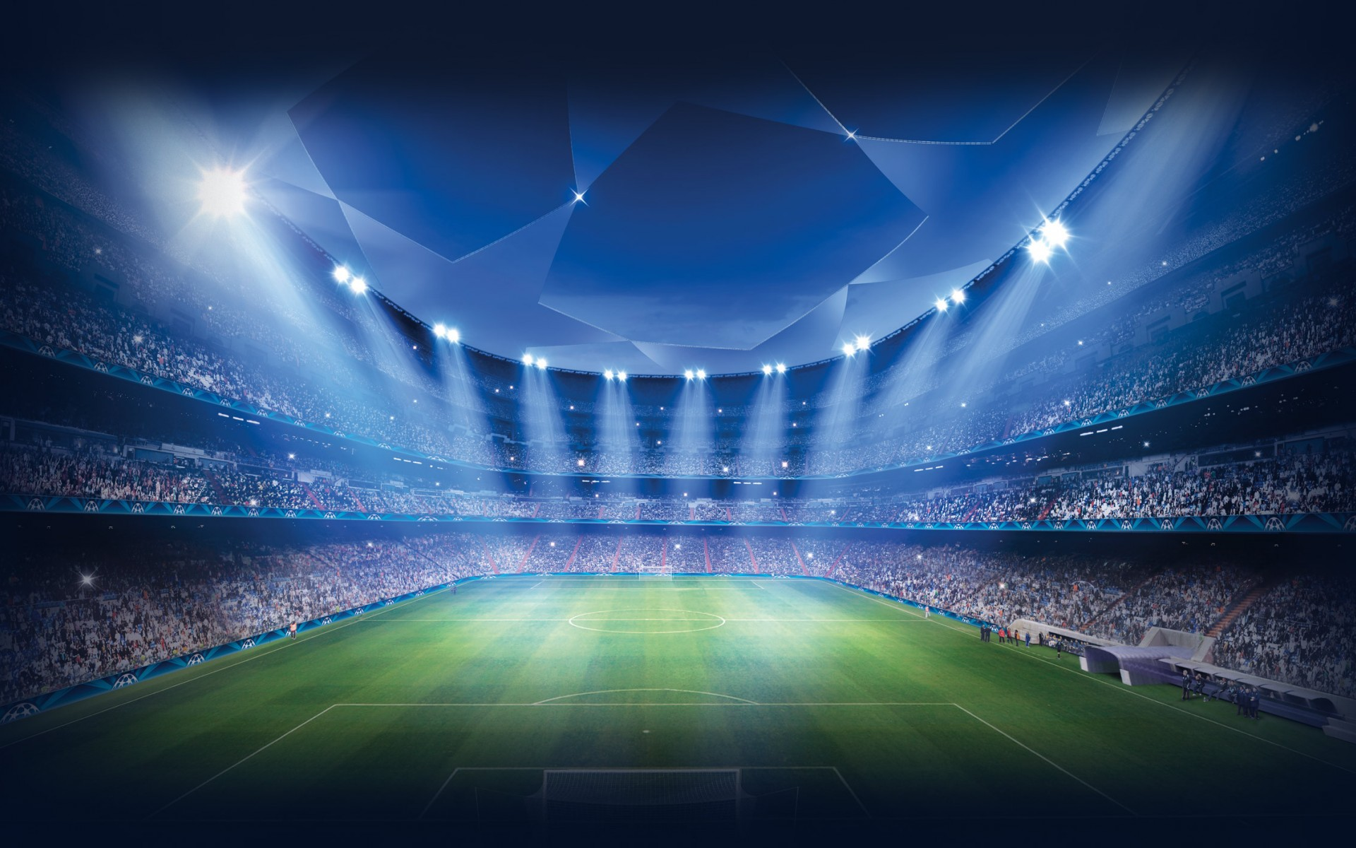 Wallpaper UEFA Champions League Stadium