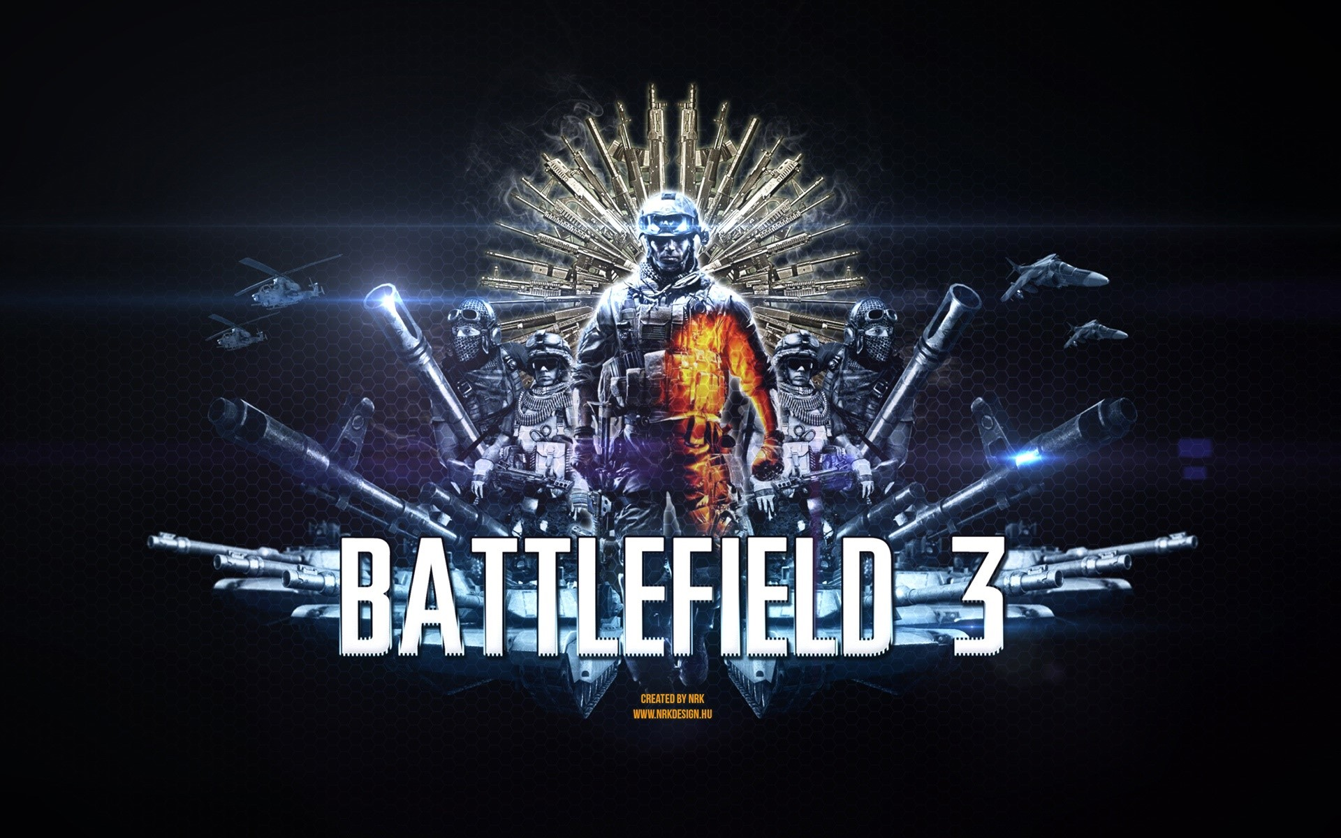 Wallpaper Ultimate battlefield 3