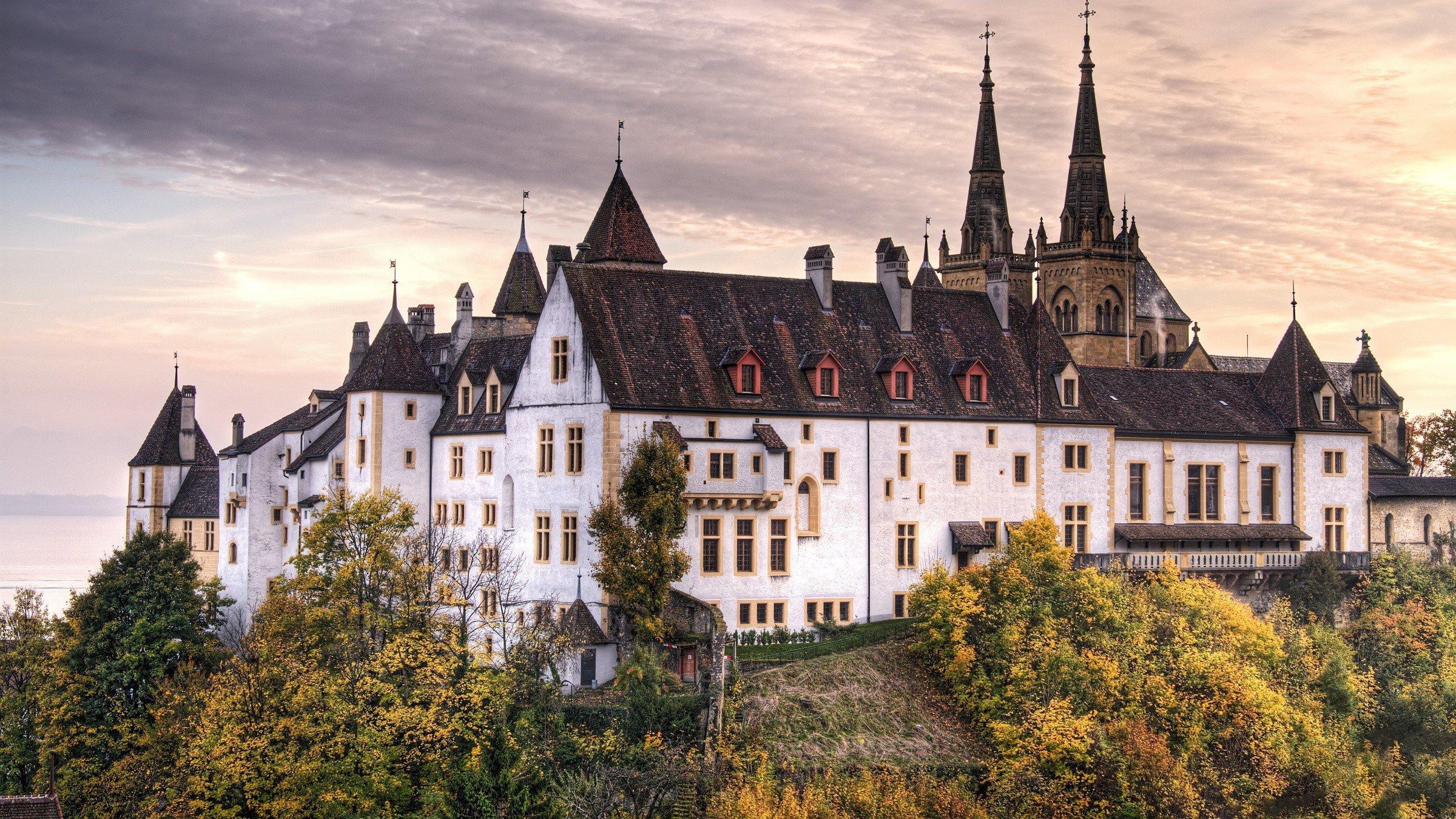 Wallpaper A great castle