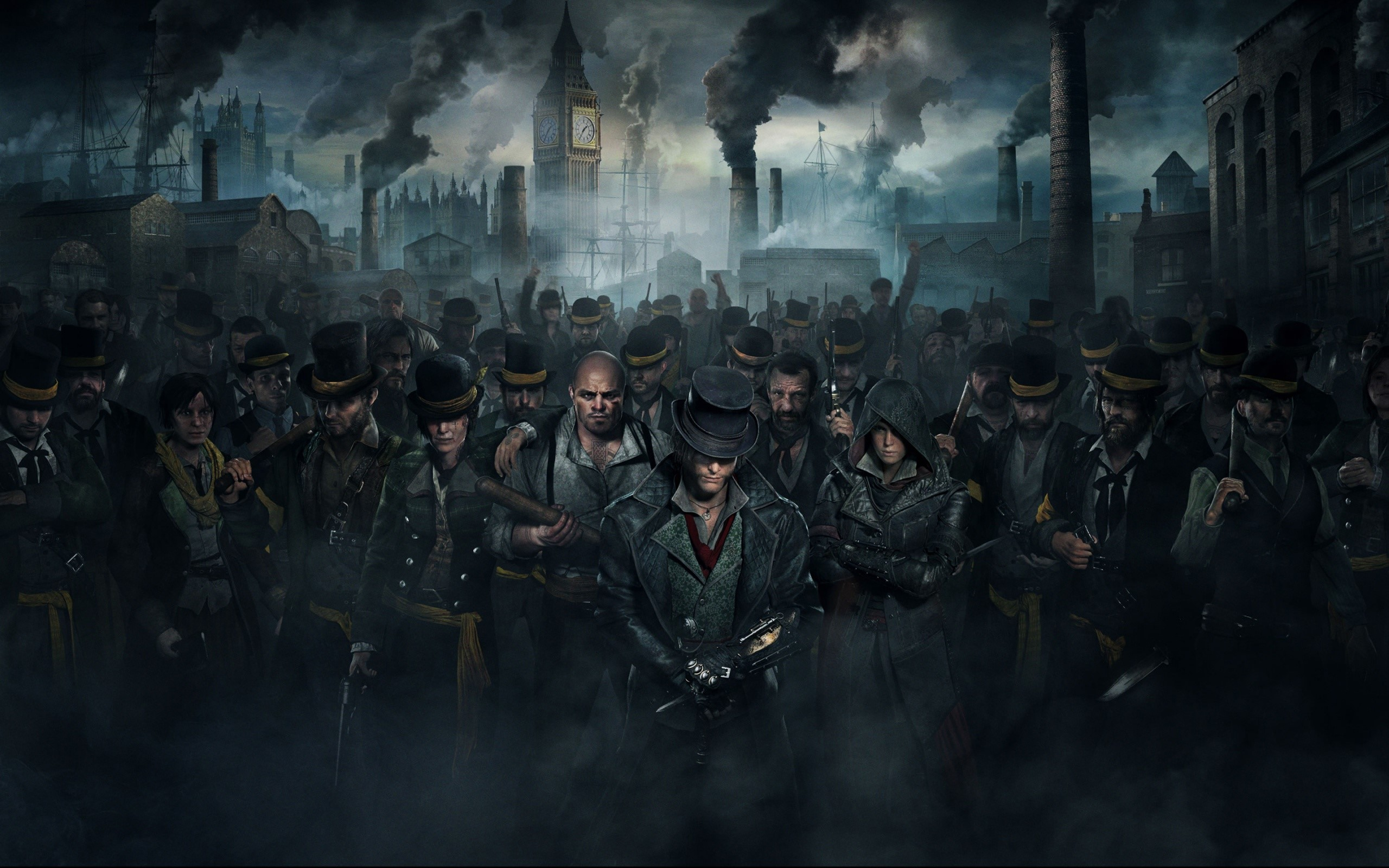Fondos de pantalla Una multitud en Assassins Creed Syndicate