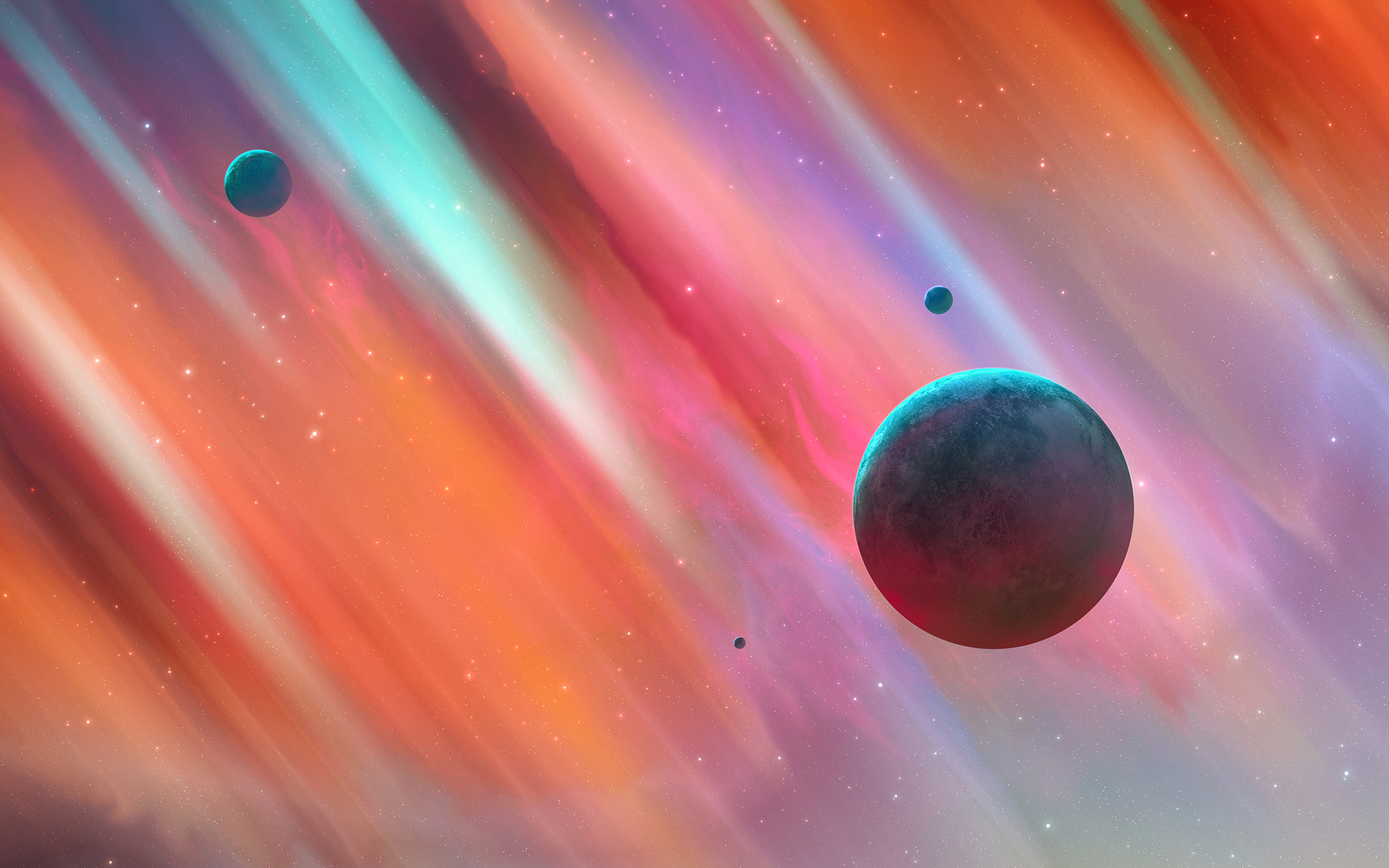 Fondos de pantalla Universo de colores