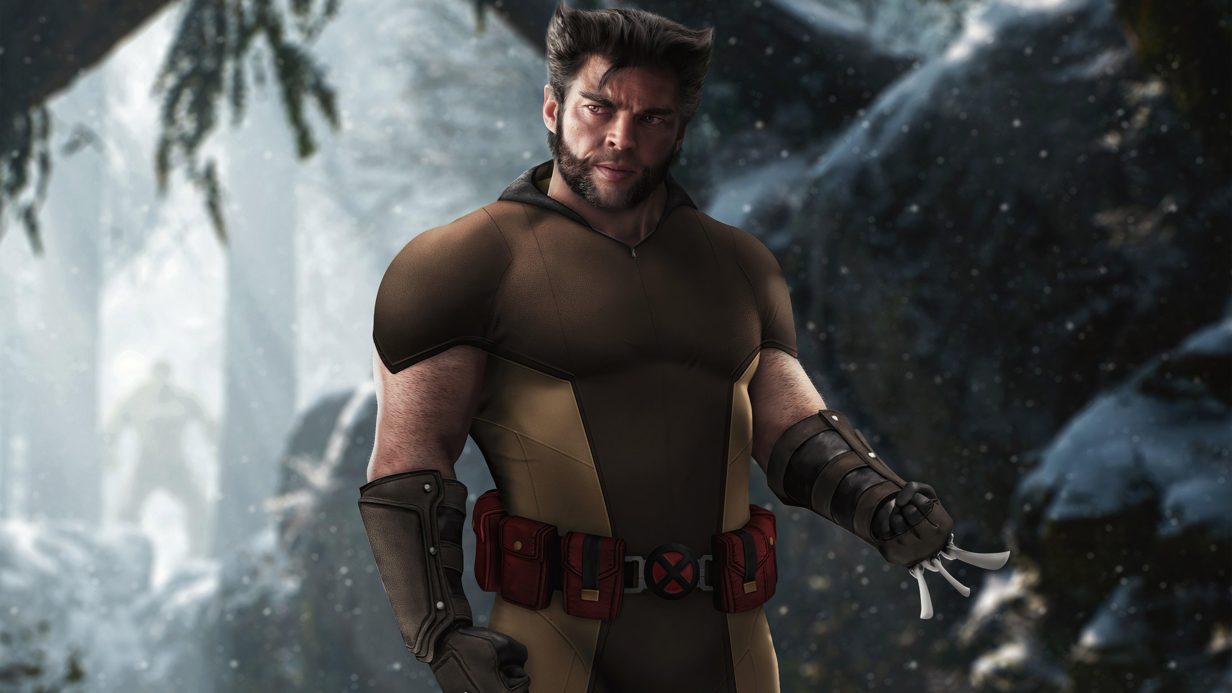 Wallpaper Urban Wolverine