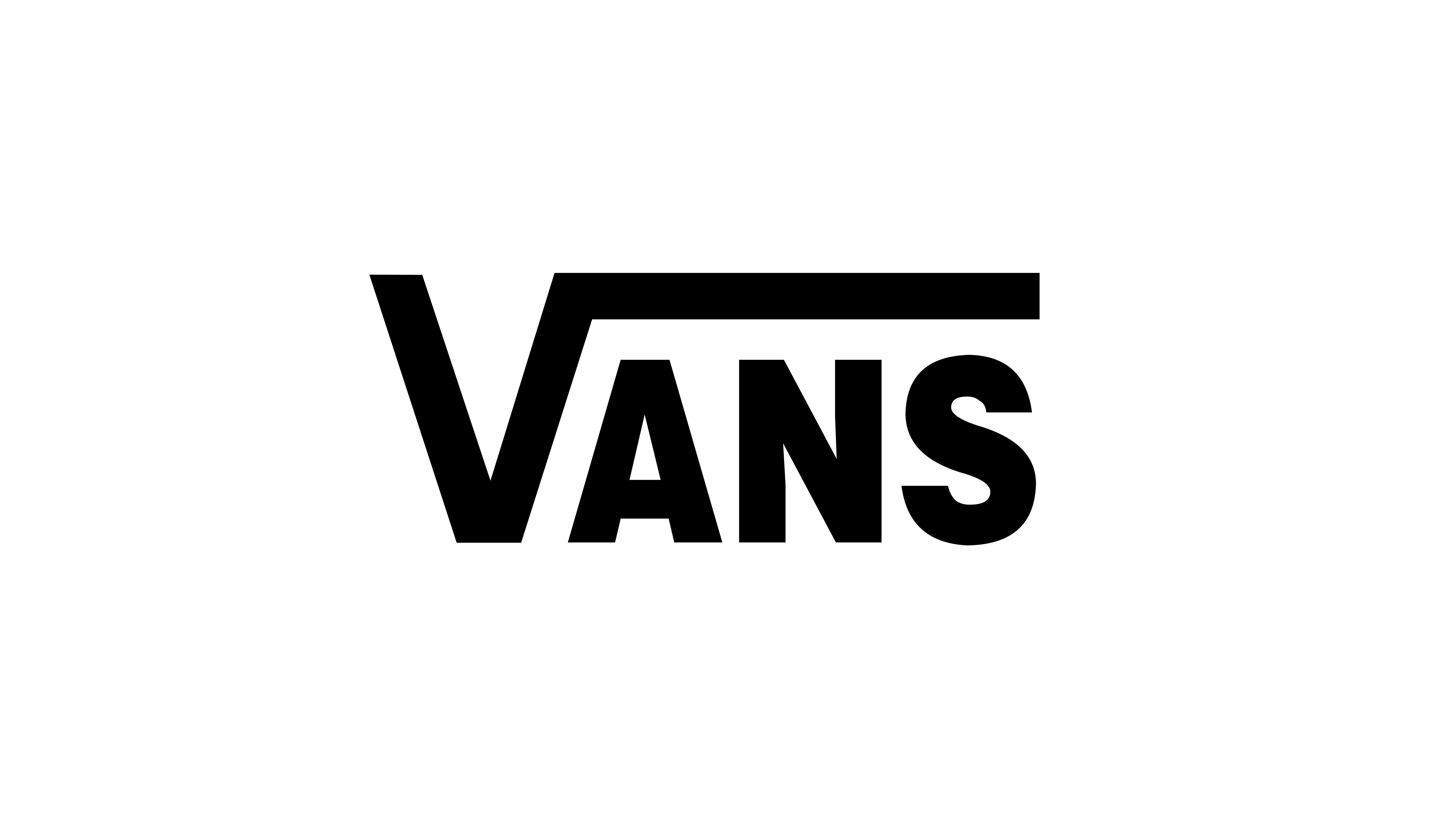 Fondos de pantalla Vans Logo en Fondo Blanco
