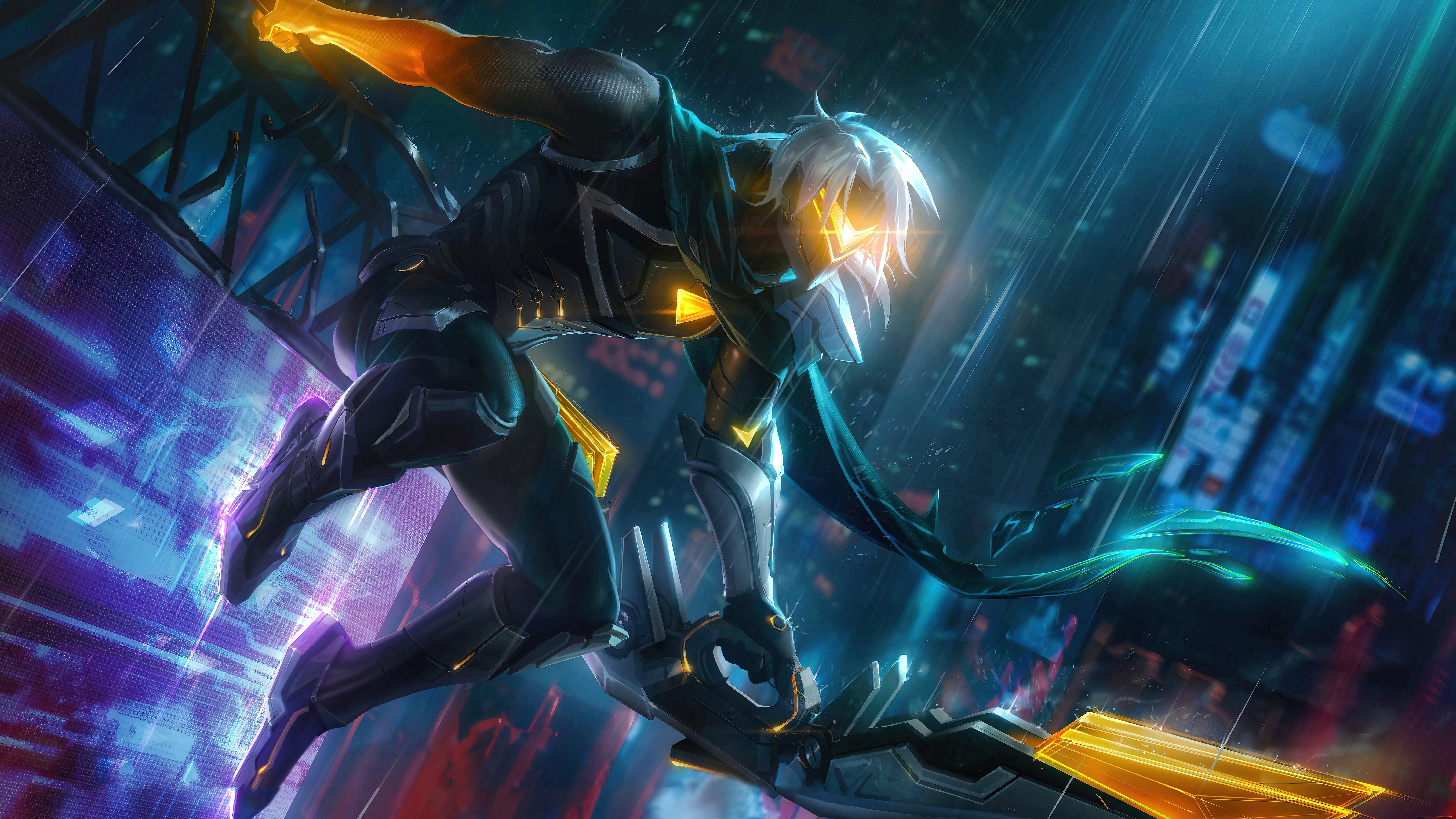Fondos de pantalla Varus Project League of Legends