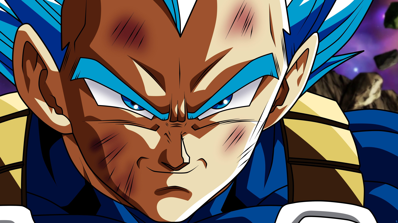 Anime Wallpaper Vegeta from Dragon Ball Super