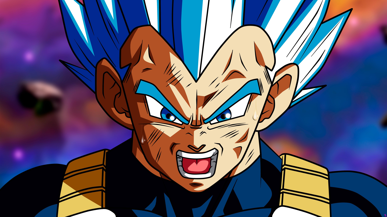 Anime Wallpaper Vegeta SSJ Blue Dragon Ball Super