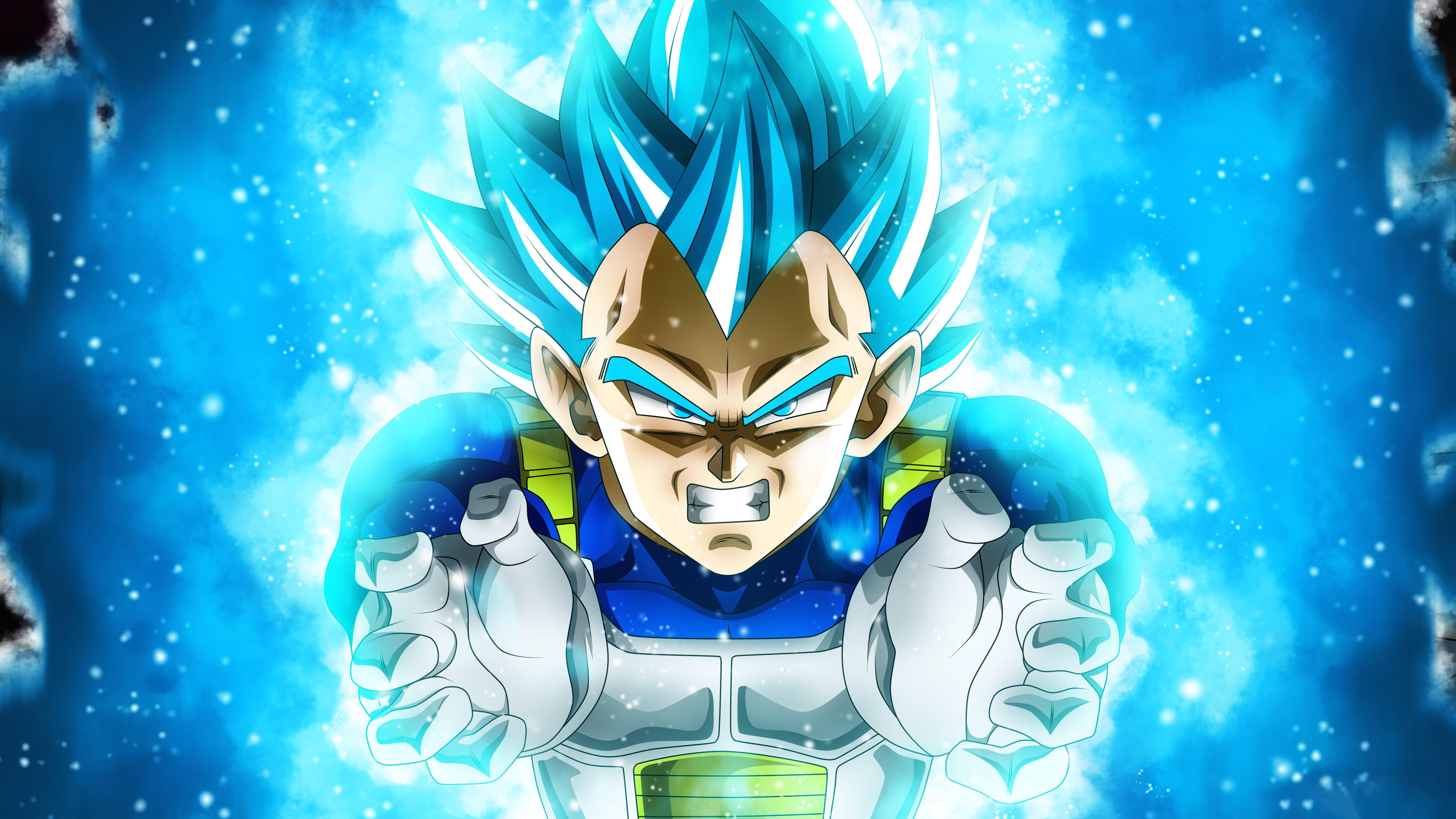 Fondos de pantalla Anime Vegeta Super Saiyan Blue de Dragon Ball Super