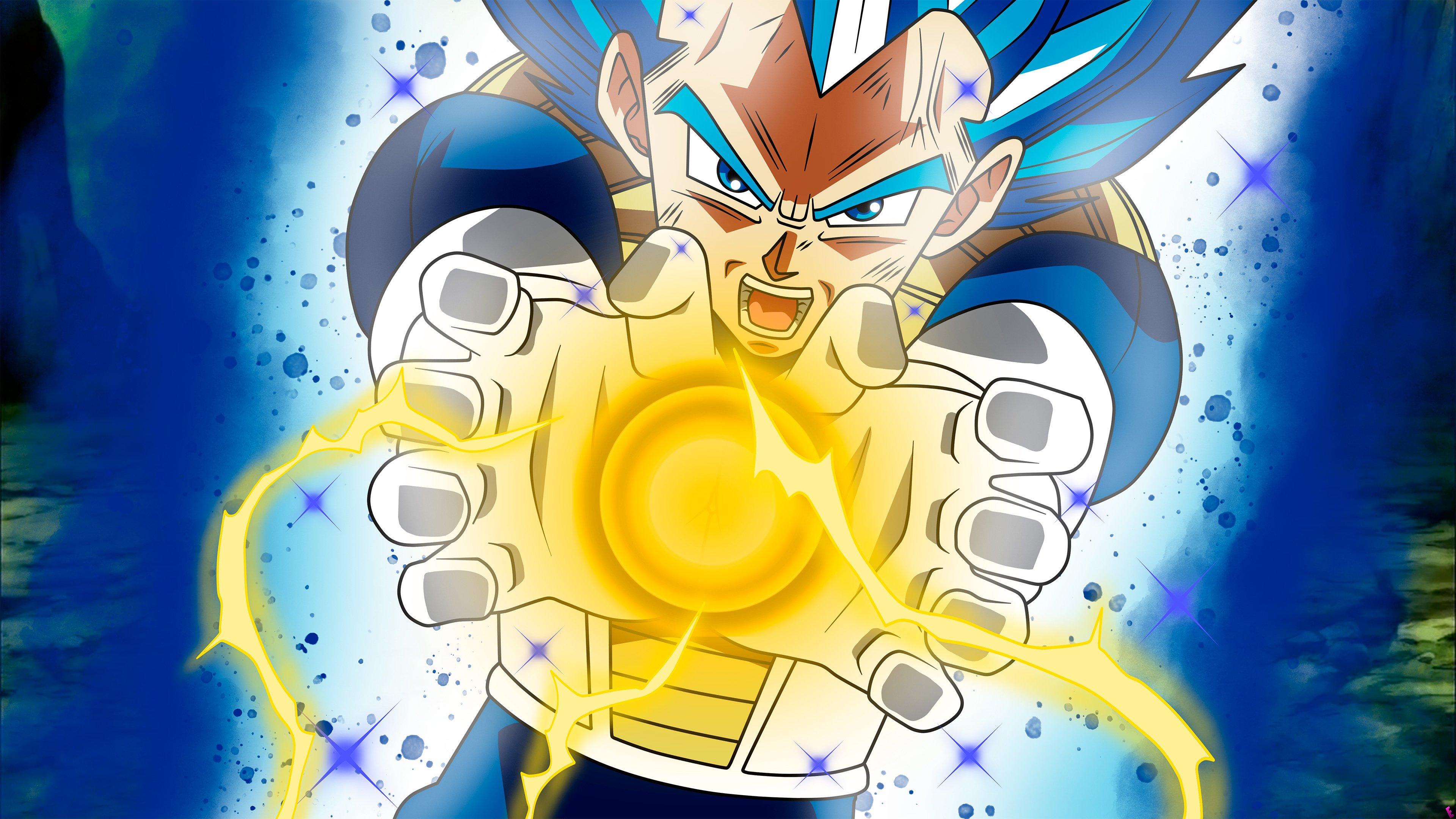 Fondos de pantalla Anime Vegeta Super Saiyan Blue Dragon Ball Super