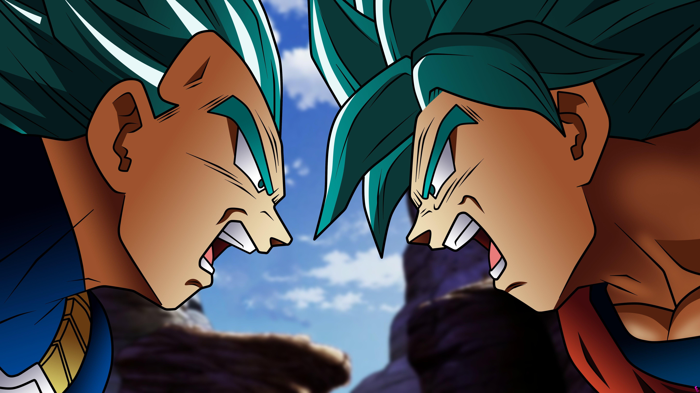 Fondos de pantalla Anime Vegeta VS Goku de Dragon Ball Super