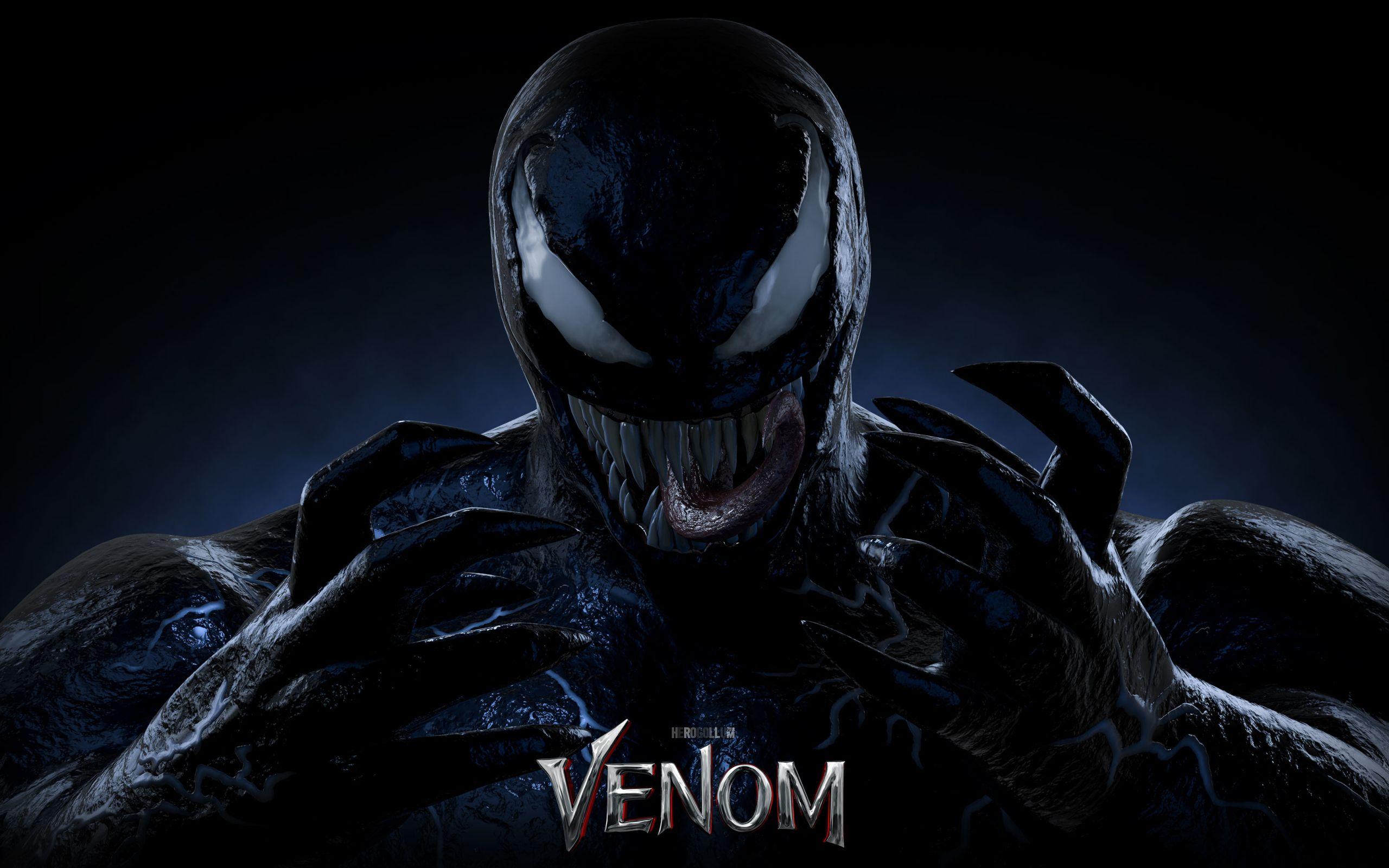 Venom 3d Fondo De Pantalla 2k Quad Hd Id3527