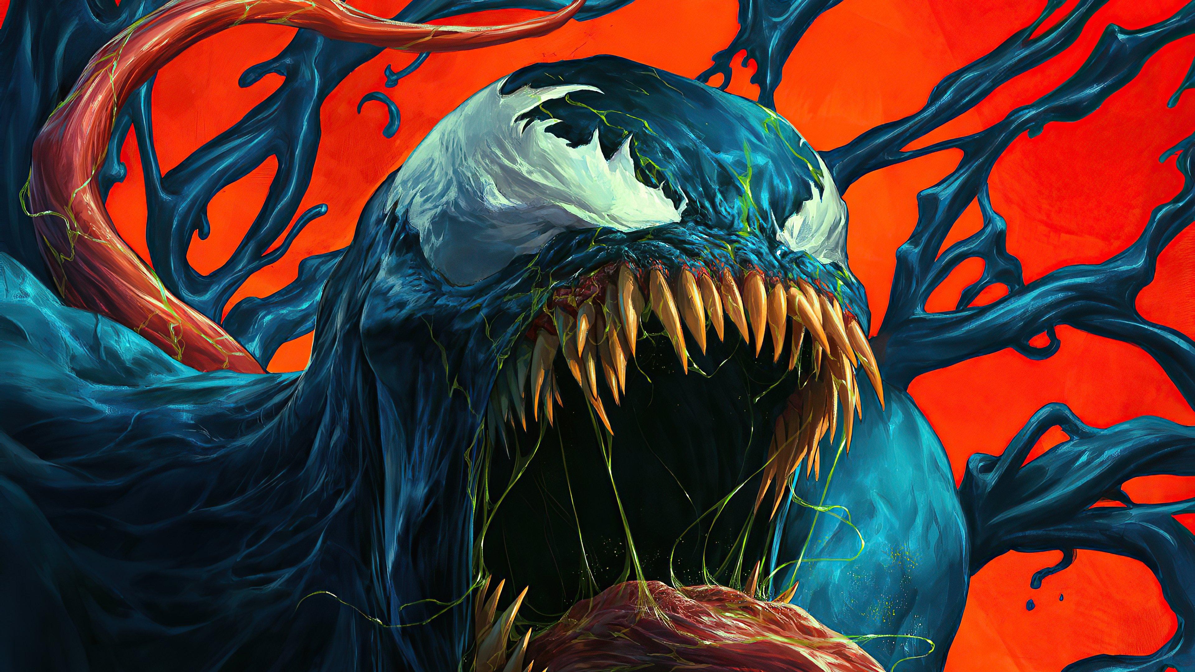 Wallpaper Venom Artwork 2020