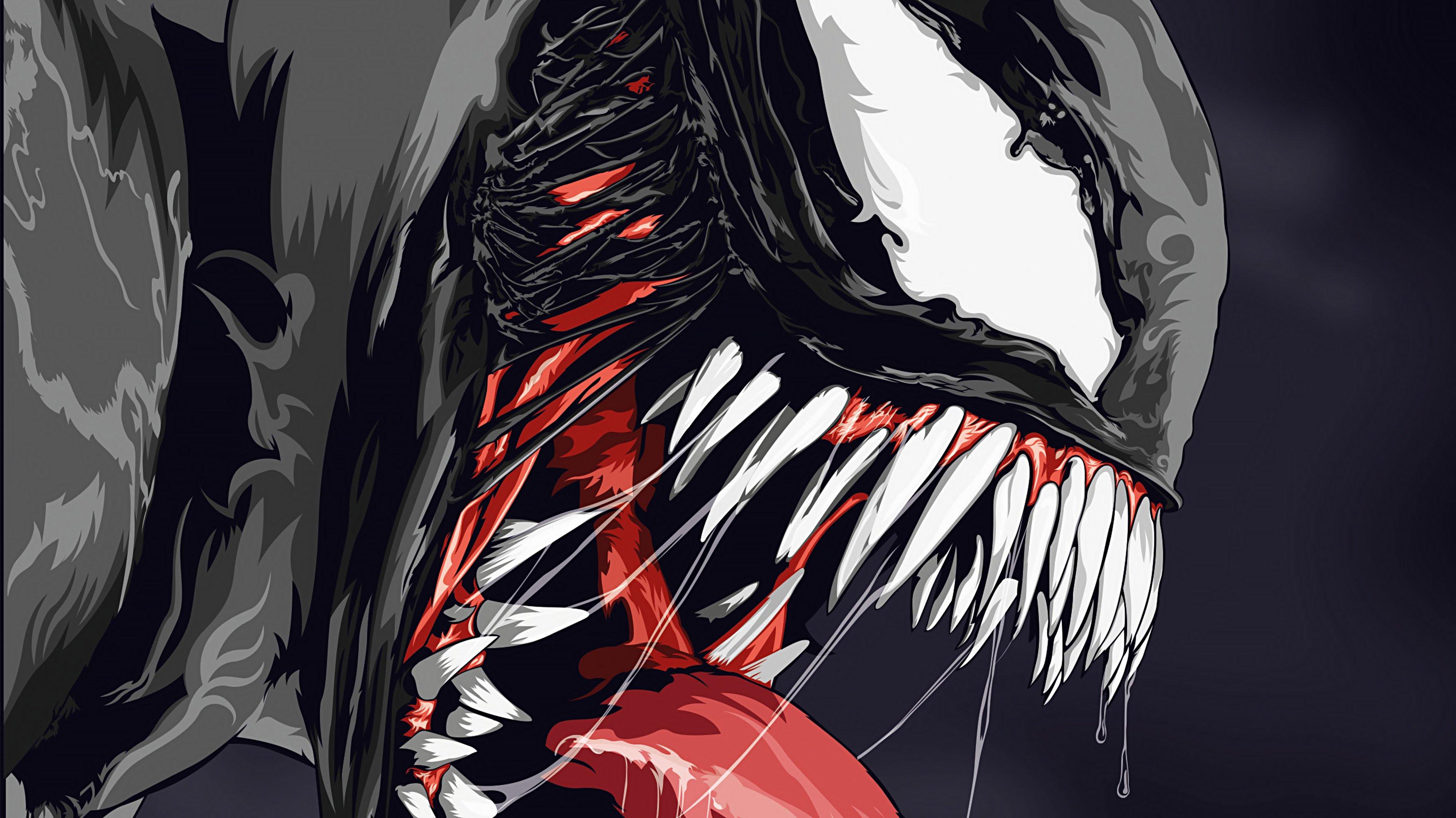 Wallpaper Venom illustration Artwork