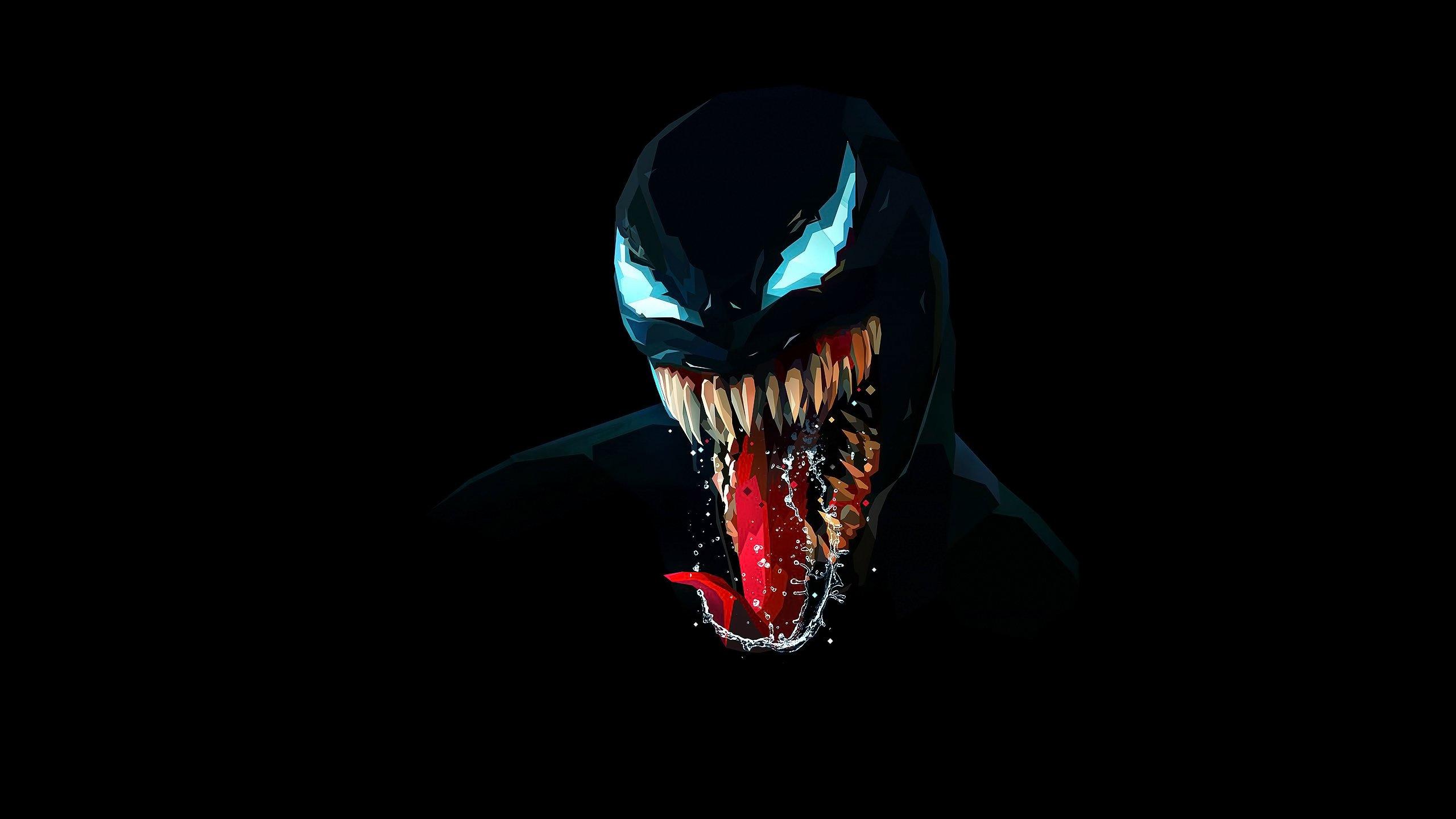 Fondos de pantalla Venom Ilustración minimalista