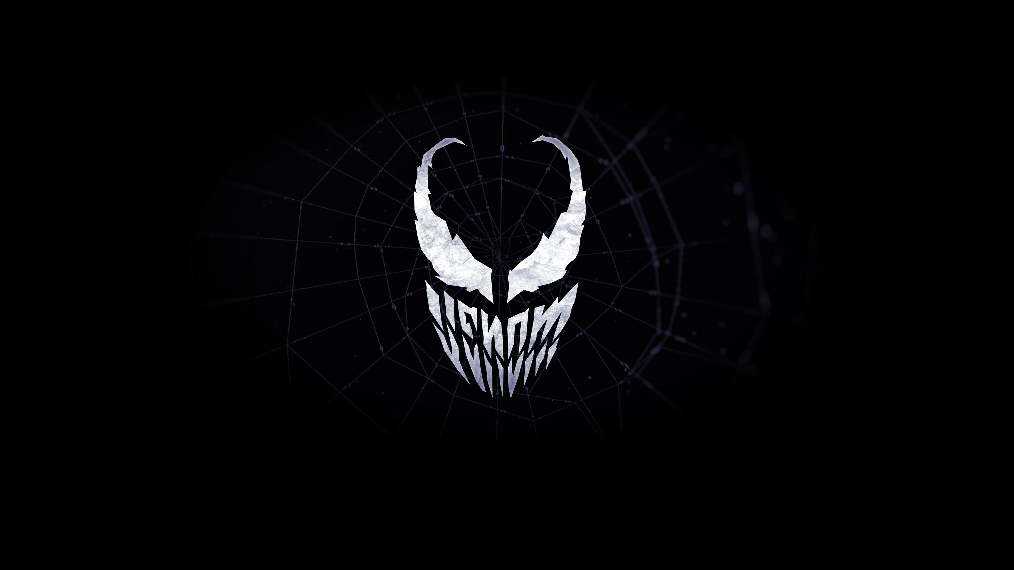 Fondos de pantalla Venom Logo Minimalista