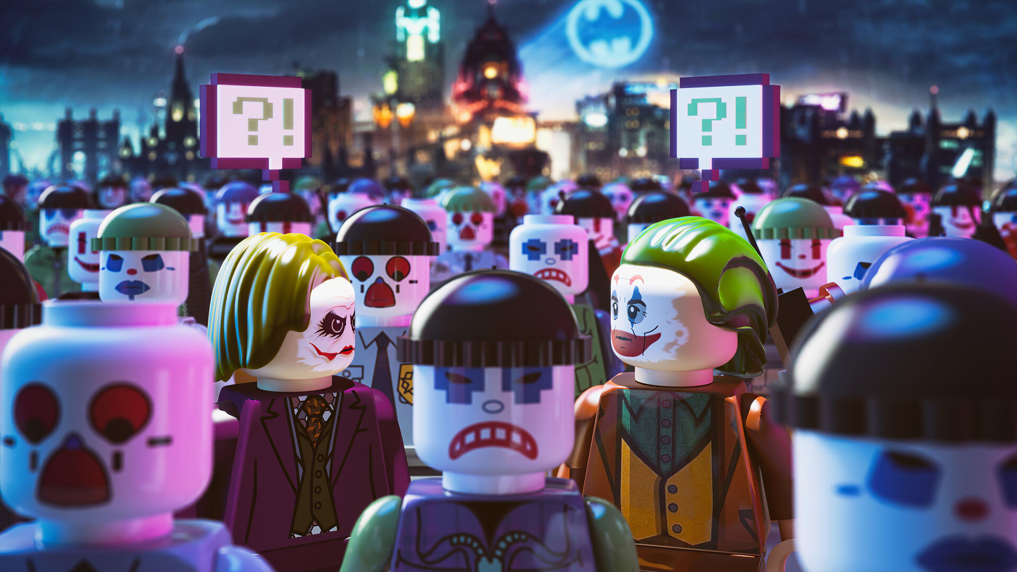 Fondos de pantalla Versiones del Guasón Lego