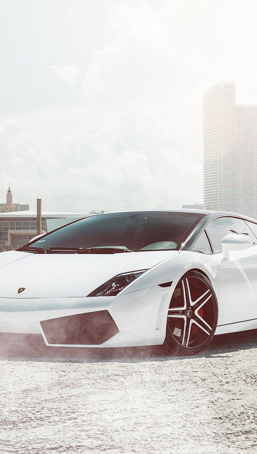 Fondos de pantalla 2003 Lamborghini Gallardo Vertical