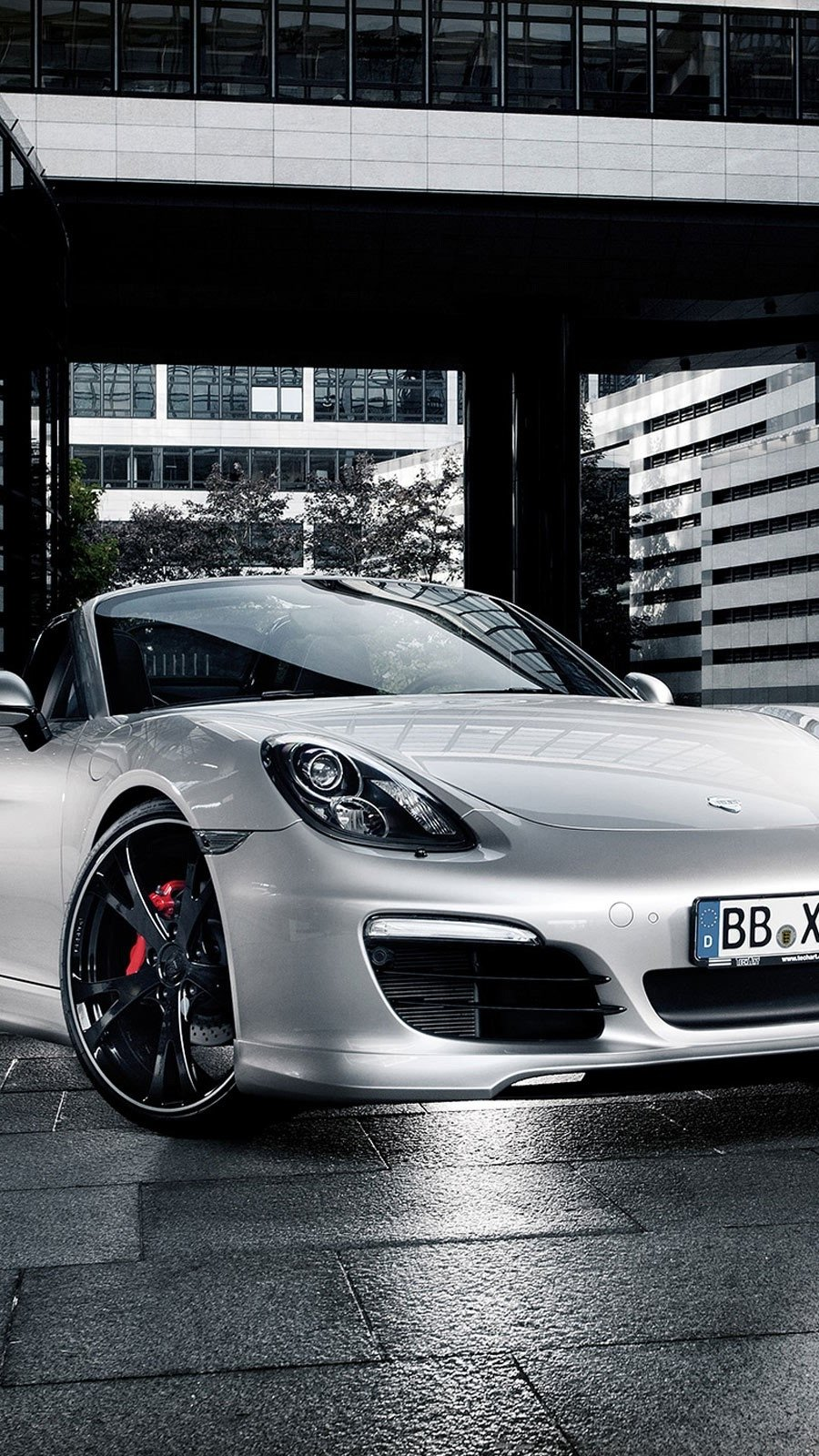 Wallpaper 2012 techart porsche boxster Vertical
