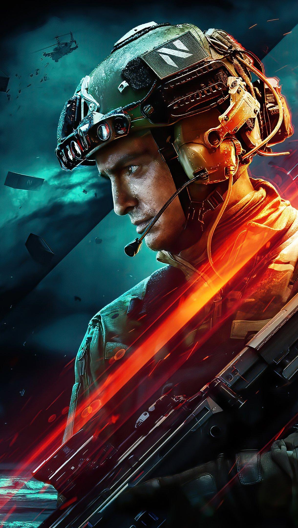 Fondos de pantalla 2021 Battlefield 2042 Vertical