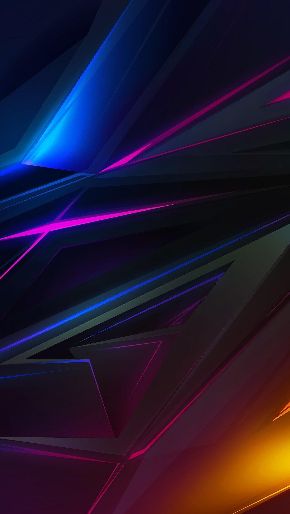 Abstract Polygons Wallpaper 4k Ultra HD ID:3089