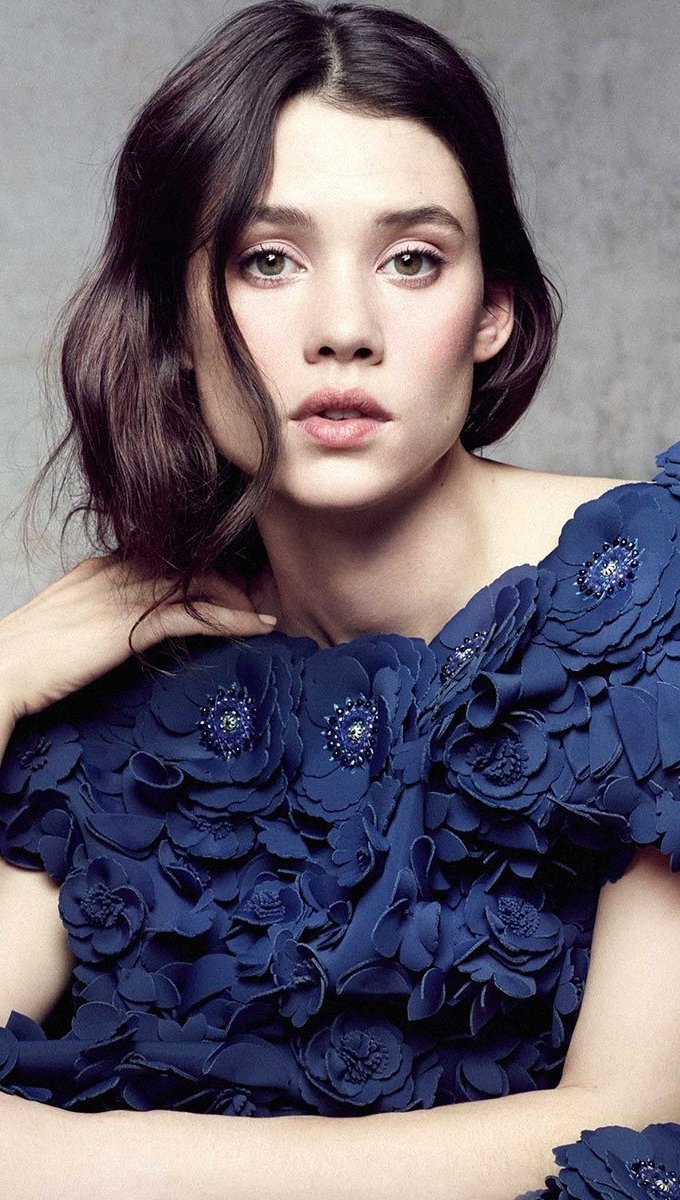 Wallpaper Actress Astrid Berges Frisbey Vertical