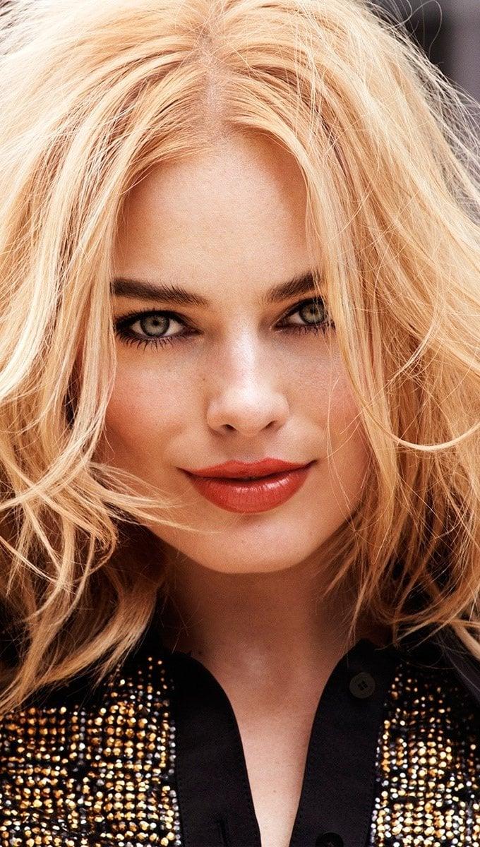 Wallpaper Actress Margot Robbie Vertical