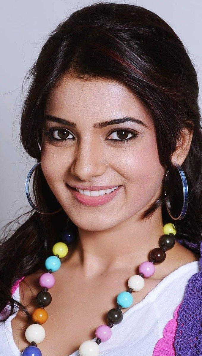 Wallpaper Actress Samantha Ruth Prabhu Vertical