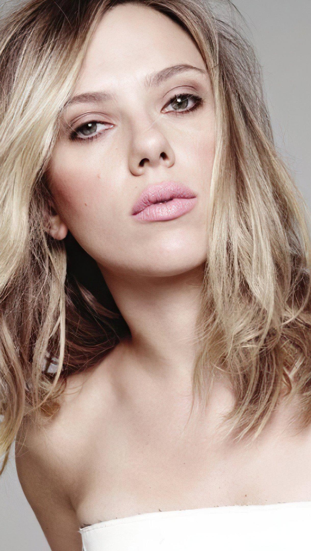 Wallpaper Actress Scarlett Johansson Vertical