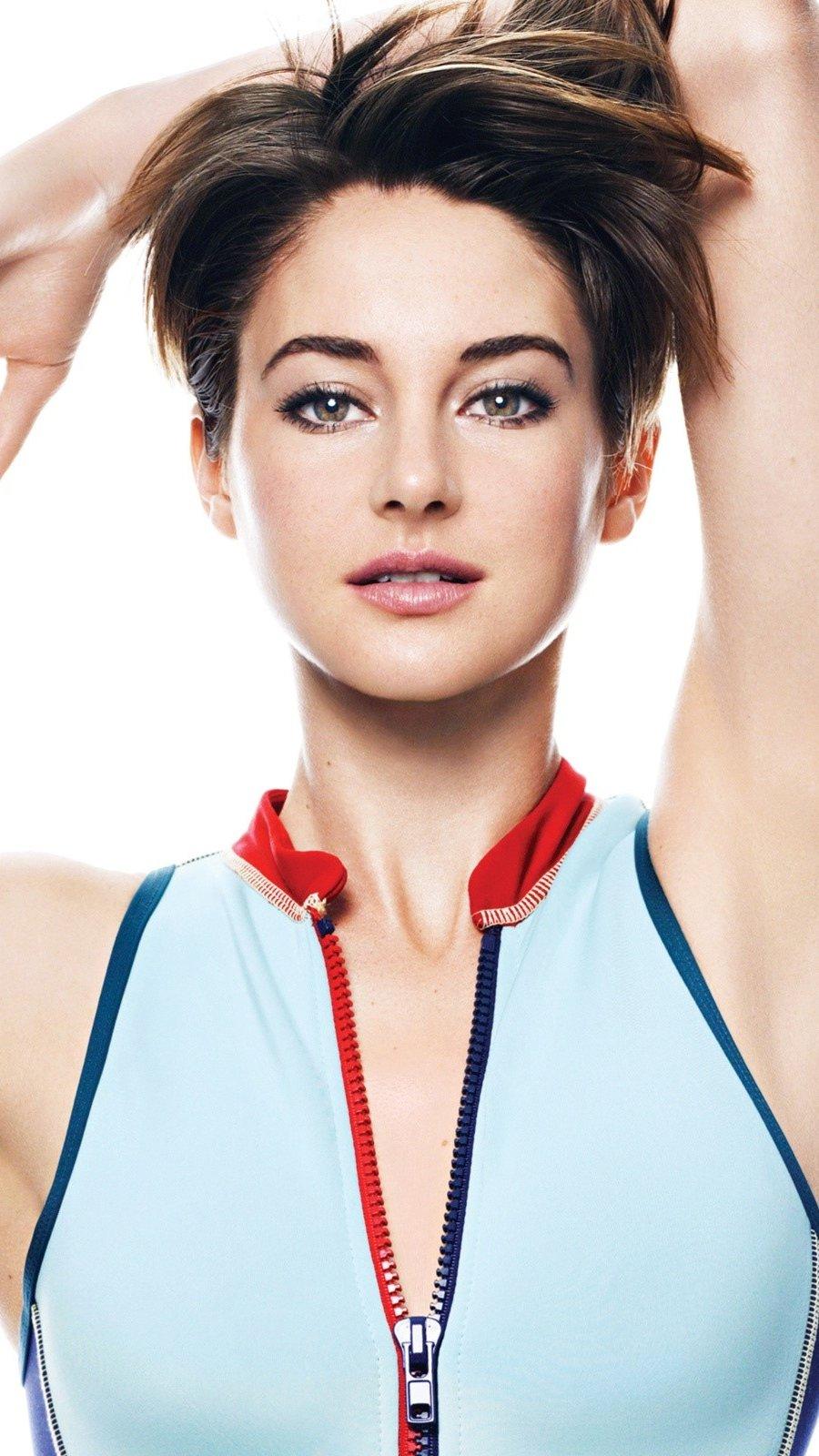 Wallpaper Actress Shailene Woodley Vertical
