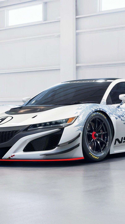 Fondos de pantalla Acura NSX GT3 Vertical
