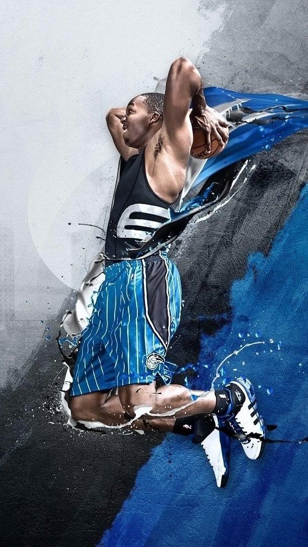 Wallpaper Adidas NBA basketball Vertical