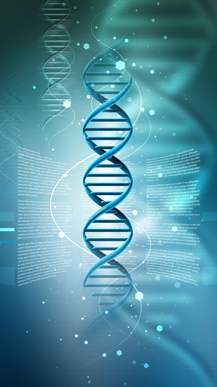 Fondos de pantalla ADN Vertical