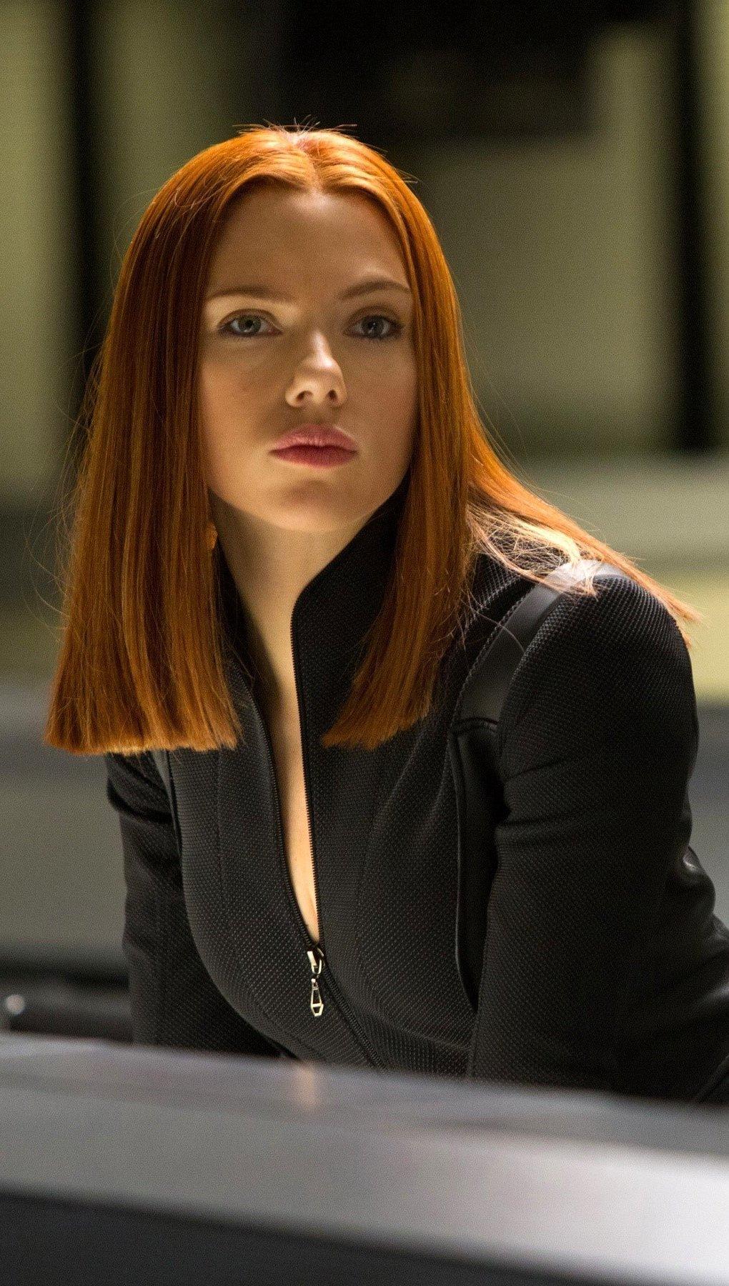 Wallpaper Agent Natasha Romanoff Vertical