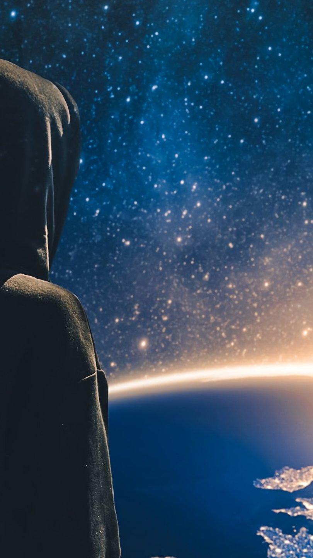 Fondos de pantalla Alan Walker vista al universo Vertical