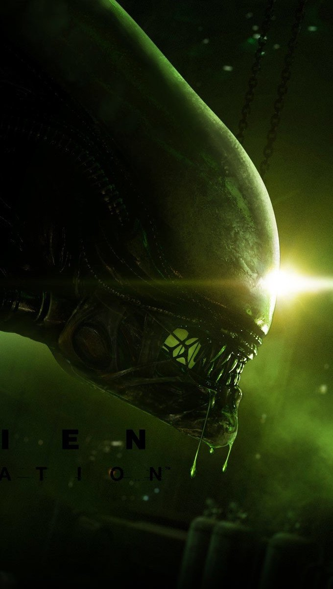 Wallpaper Alien Isolation Vertical