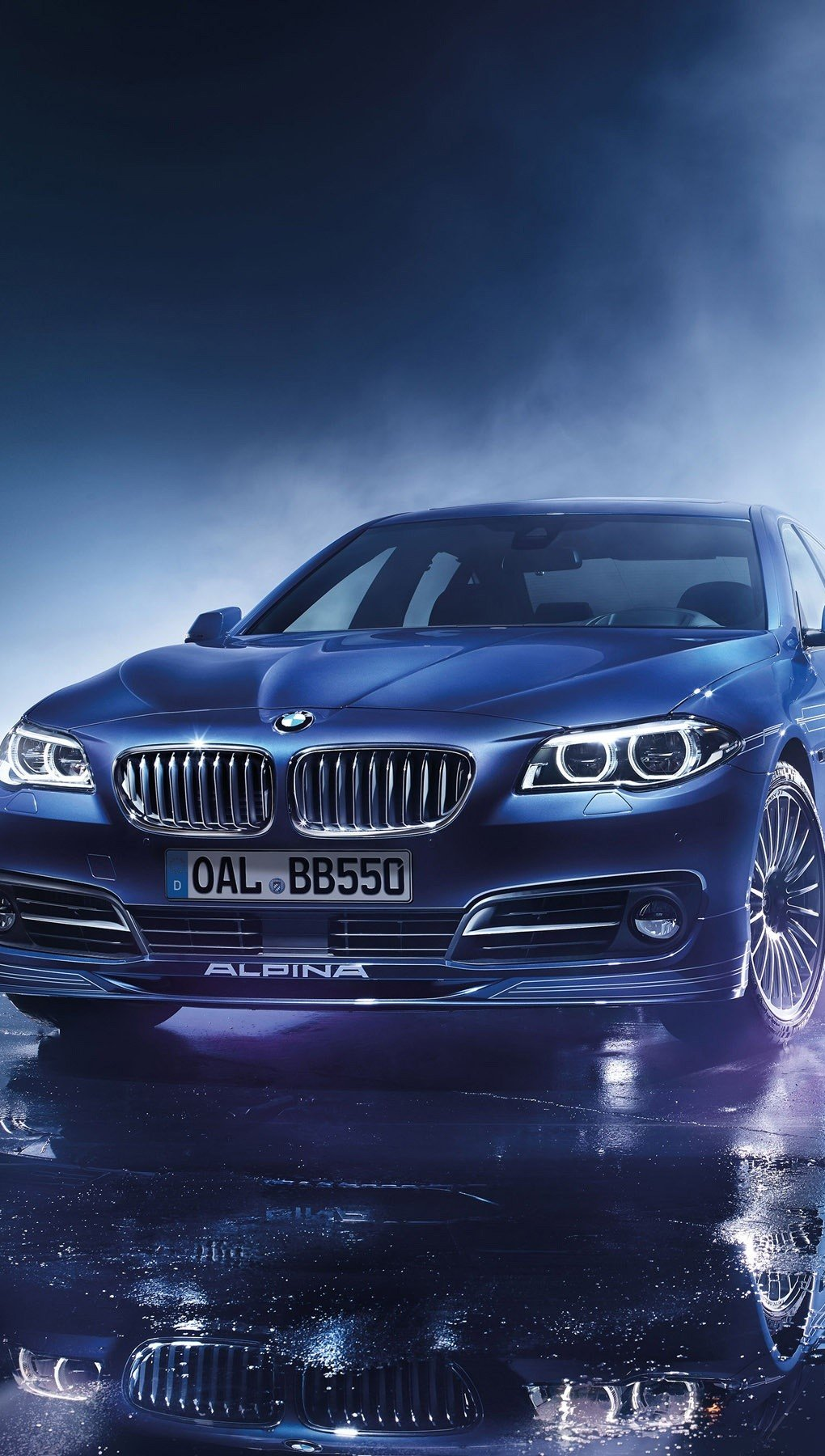 Wallpaper Alpina BMW B5 BI turbo edition Vertical