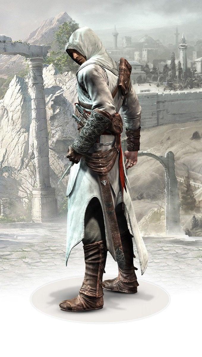 Wallpaper Altair Ibn la Ahad in Assassin's Creed Vertical