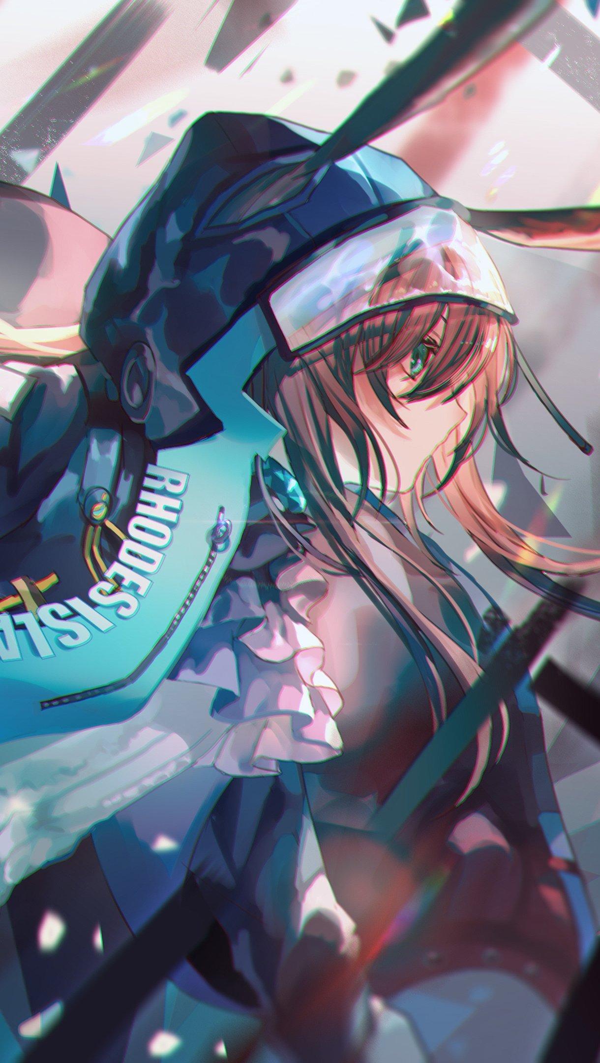 Fondos de pantalla Anime Amiya de Arknights Vertical