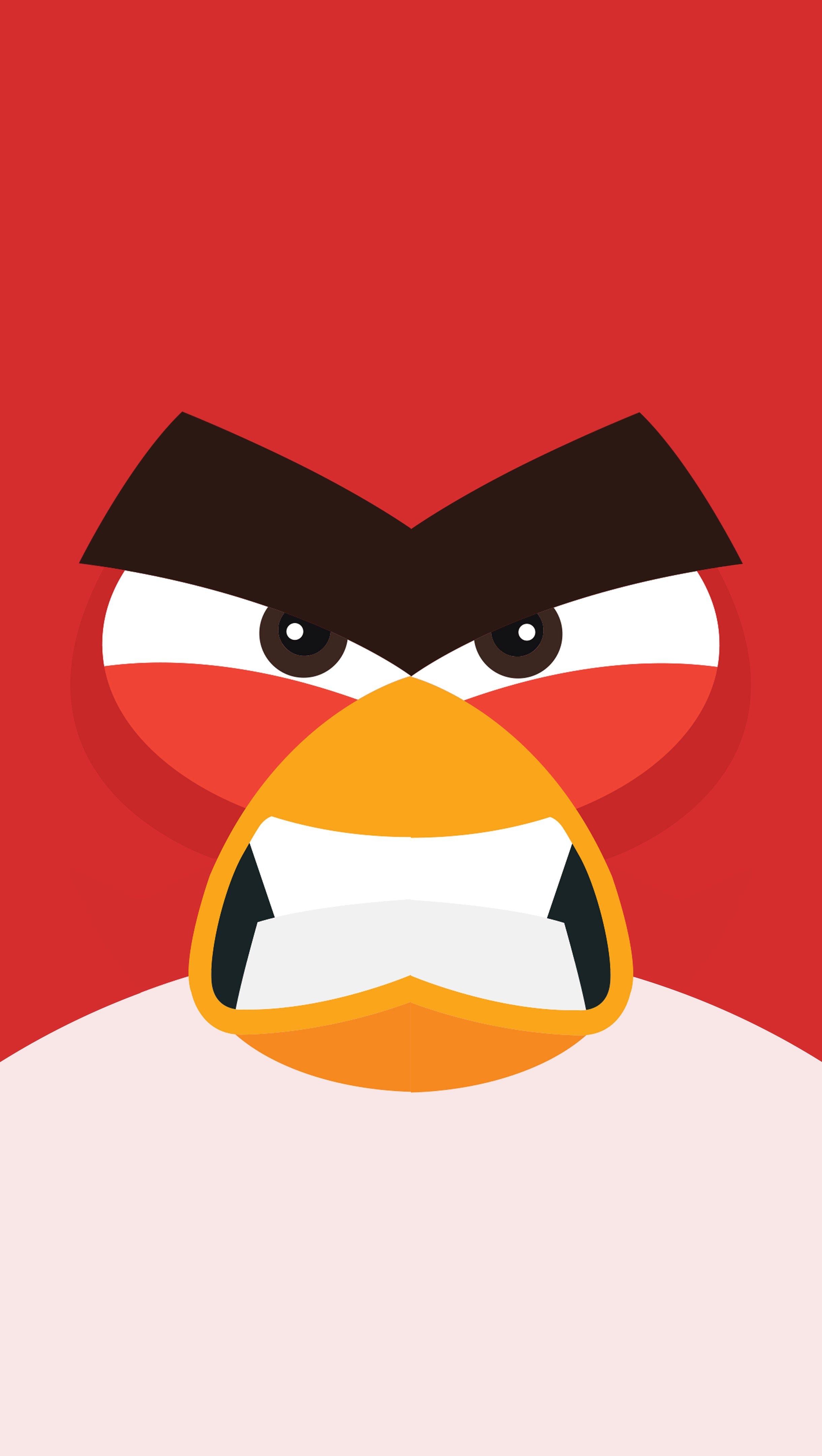 Fondos de pantalla Angry Bird Minimalista Vertical