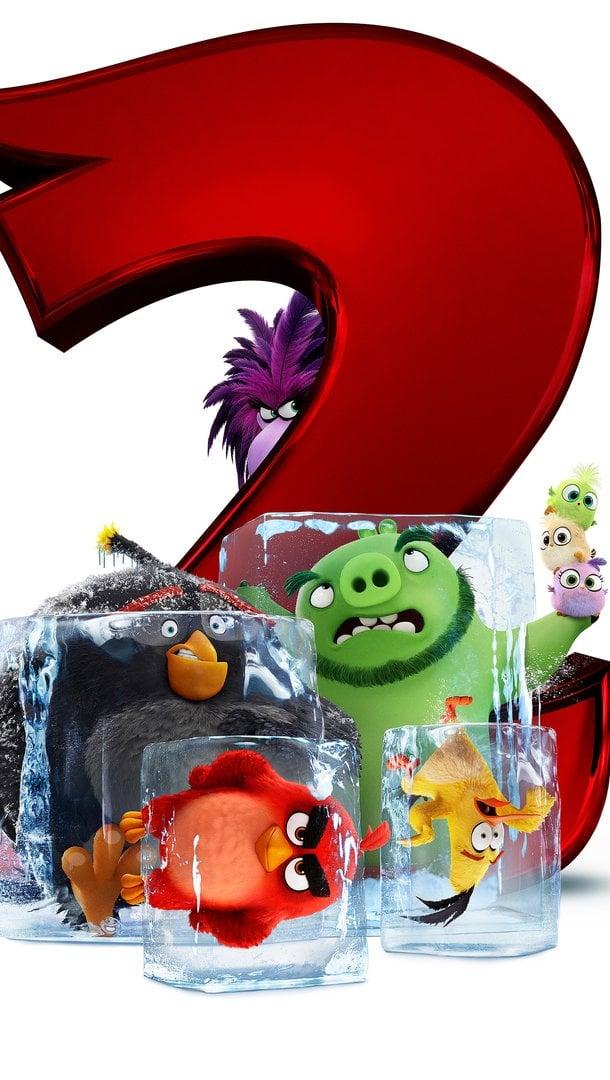 Fondos de pantalla Angry Birds 2 La película Vertical