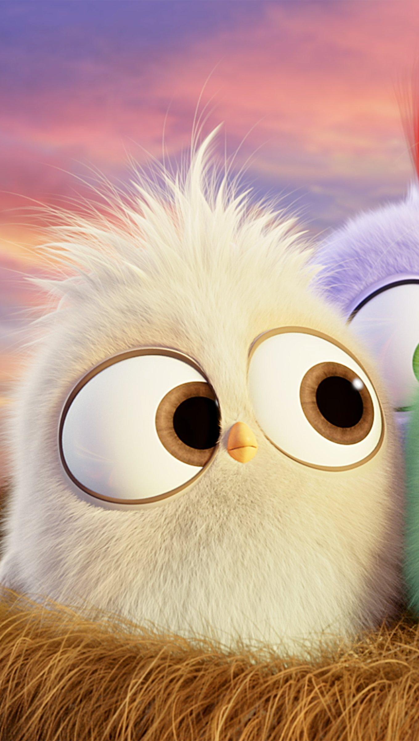 Fondos de pantalla Angry Birds Hatchlings Vertical