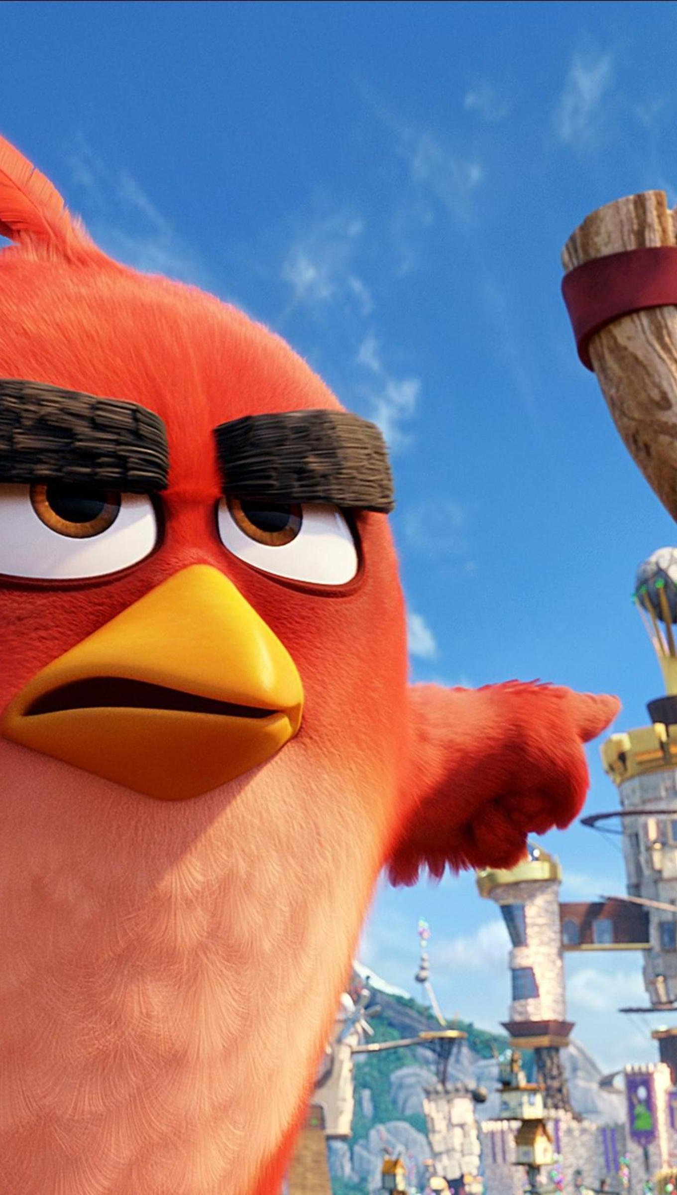Fondos de pantalla Angry Birds película Vertical