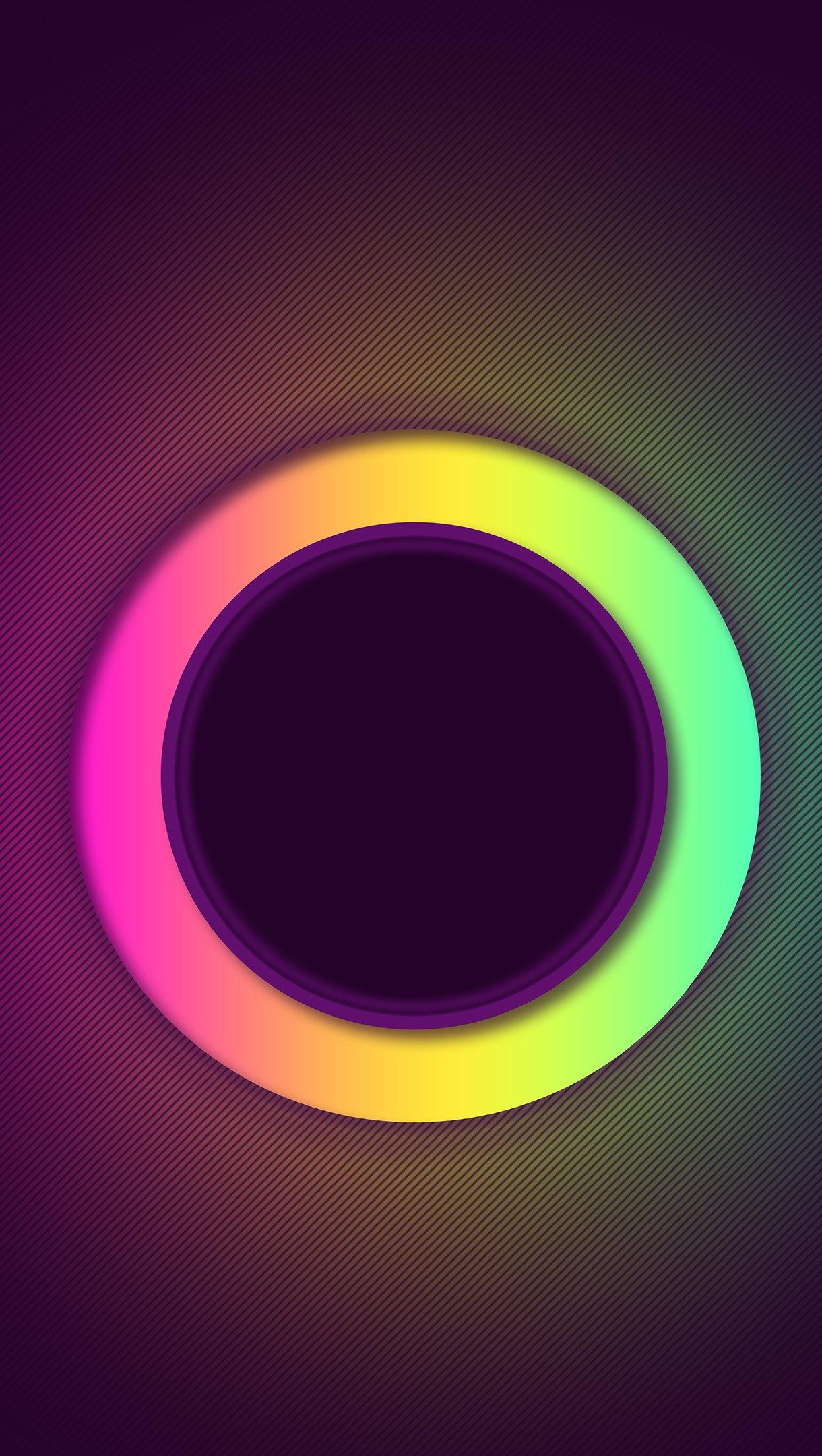 Fondos de pantalla Anillo de colores Vertical